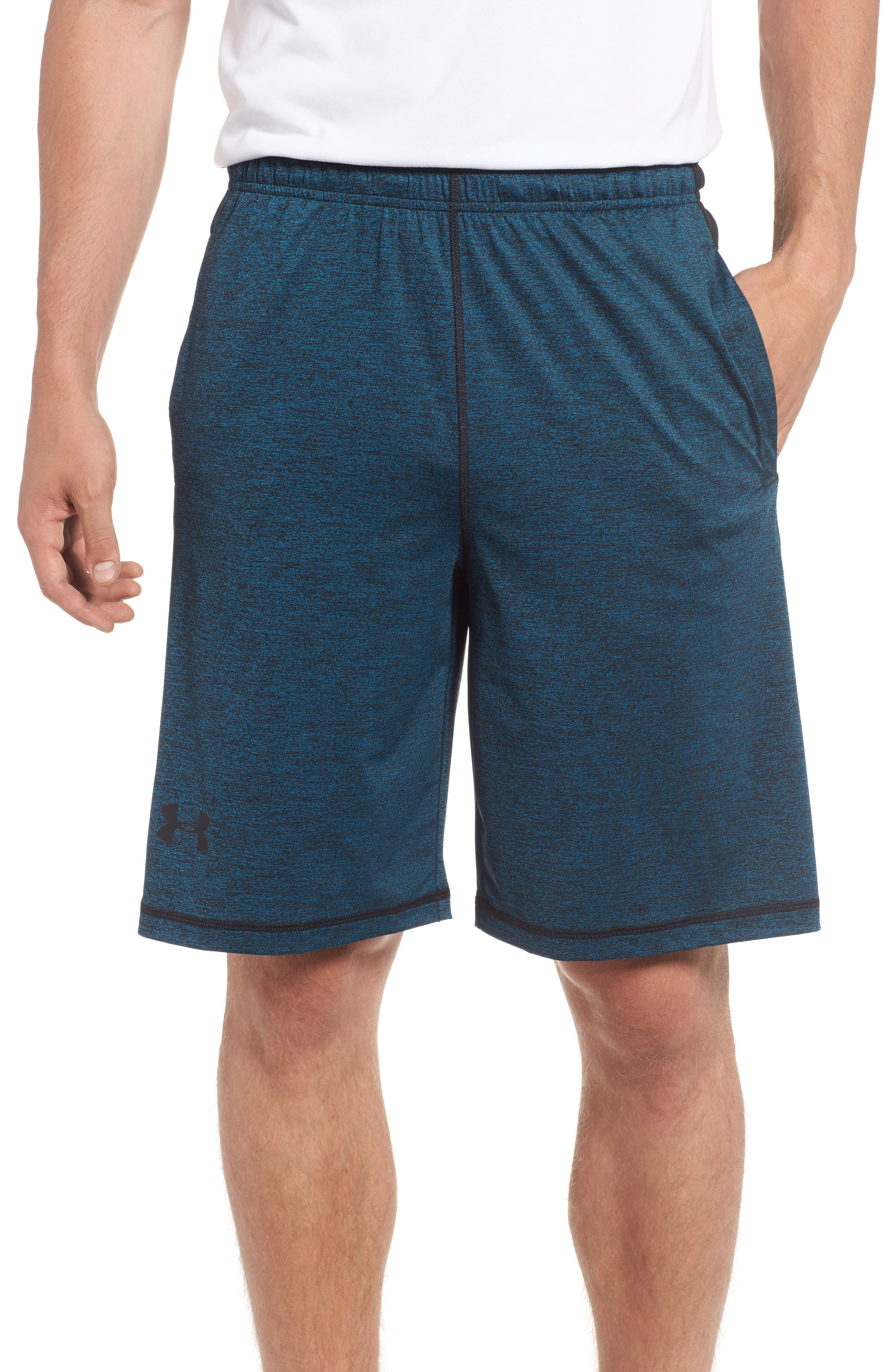 'Raid' HeatGear<sup>®</sup> Loose Fit Athletic Shorts,                             Main thumbnail 1, color,                             405