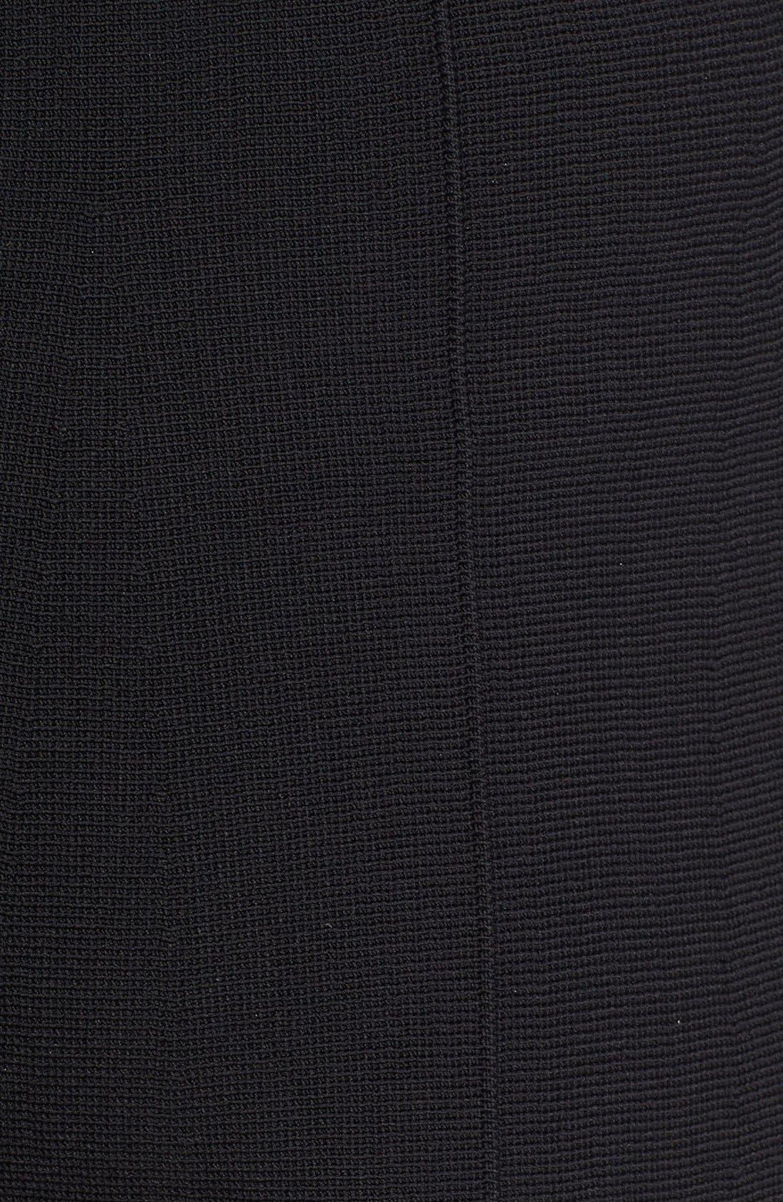Knit Culottes,                             Alternate thumbnail 3, color,                             001