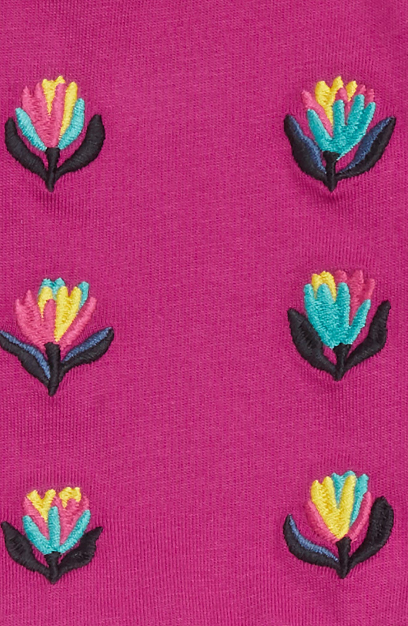 Blooming Embroidered Romper,                             Alternate thumbnail 2, color,                             693