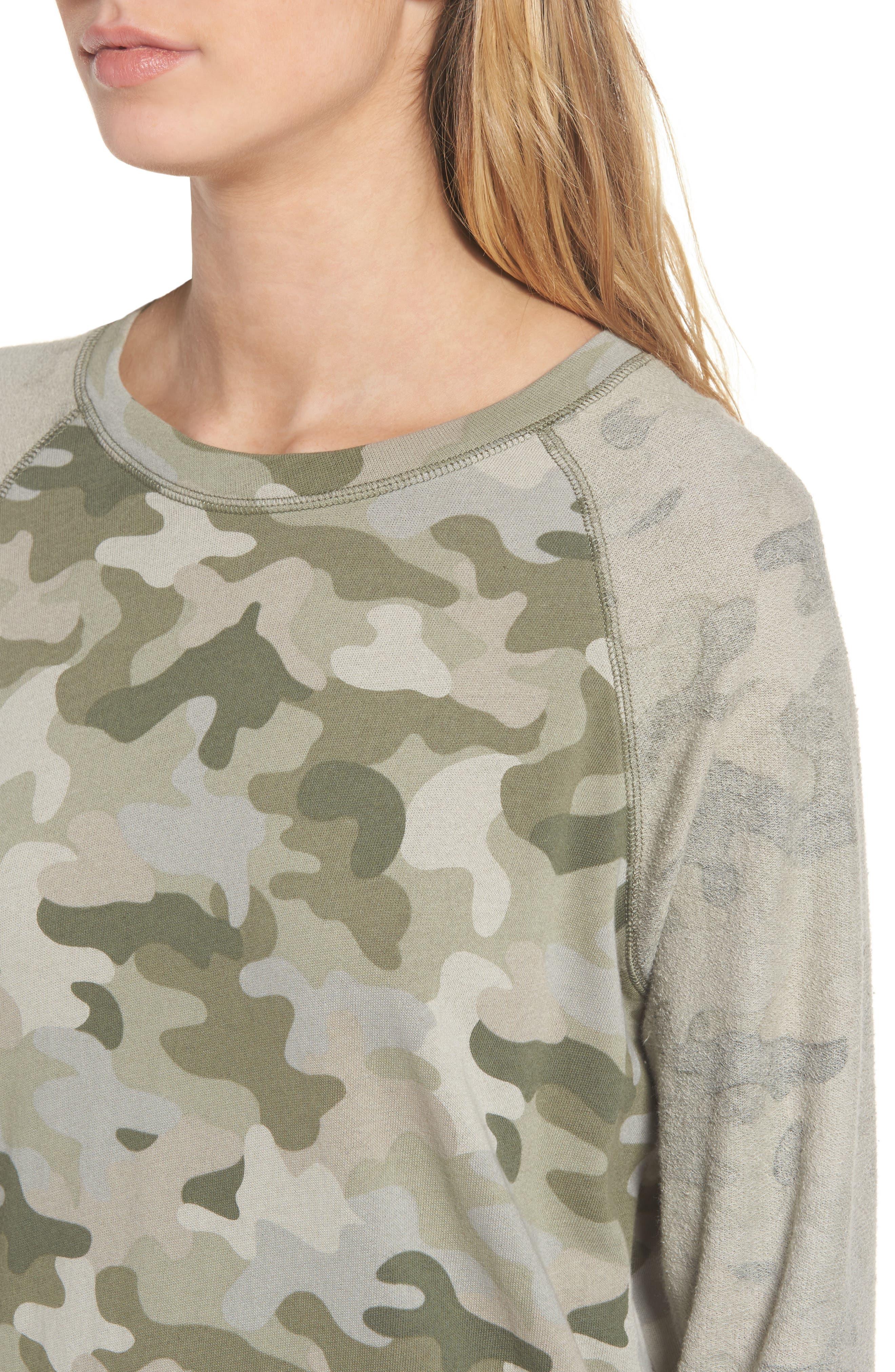 Georgia T-Shirt Dress,                             Alternate thumbnail 4, color,                             340