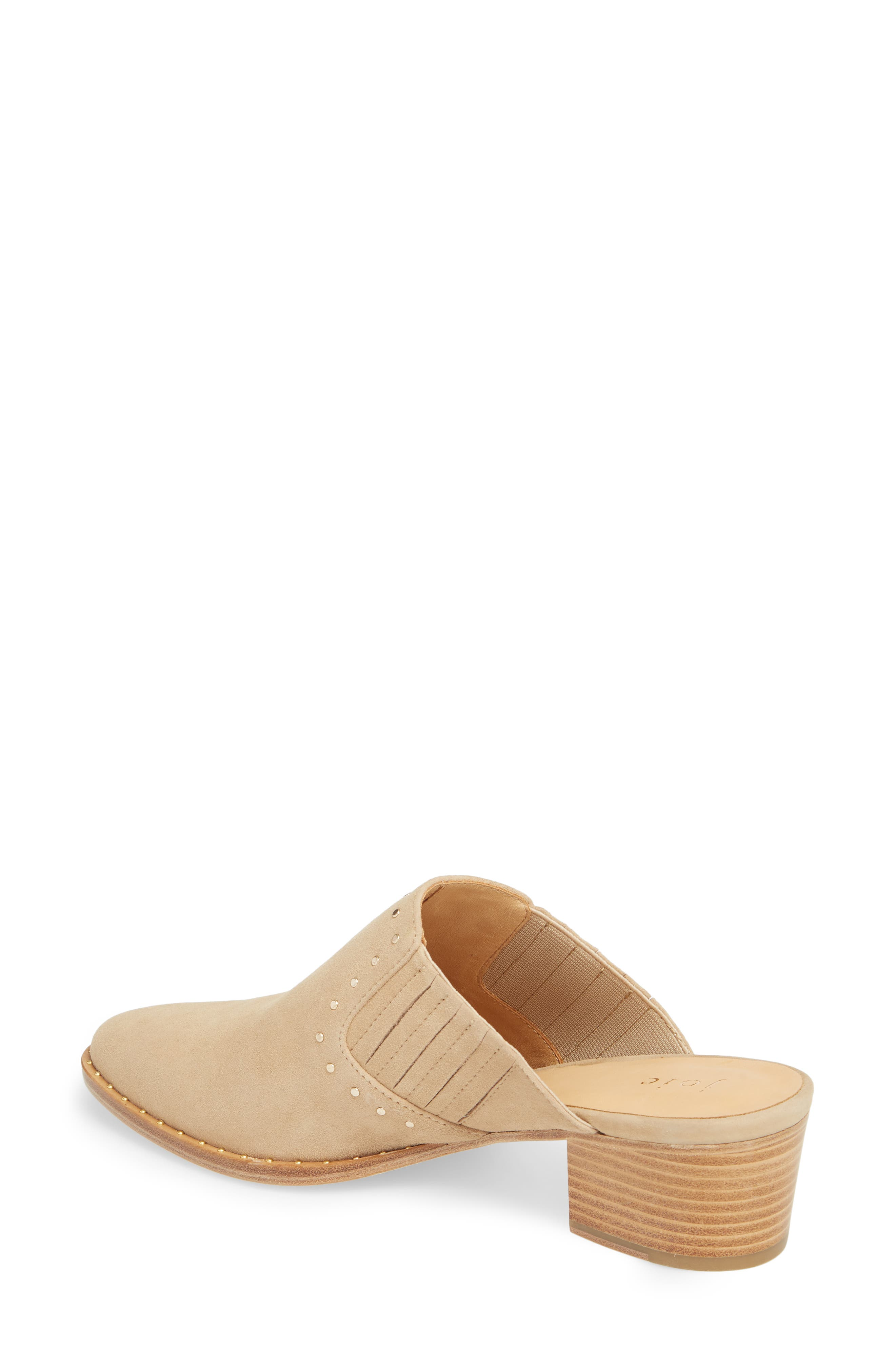 Fayla Studded Mule,                             Alternate thumbnail 2, color,                             SAND