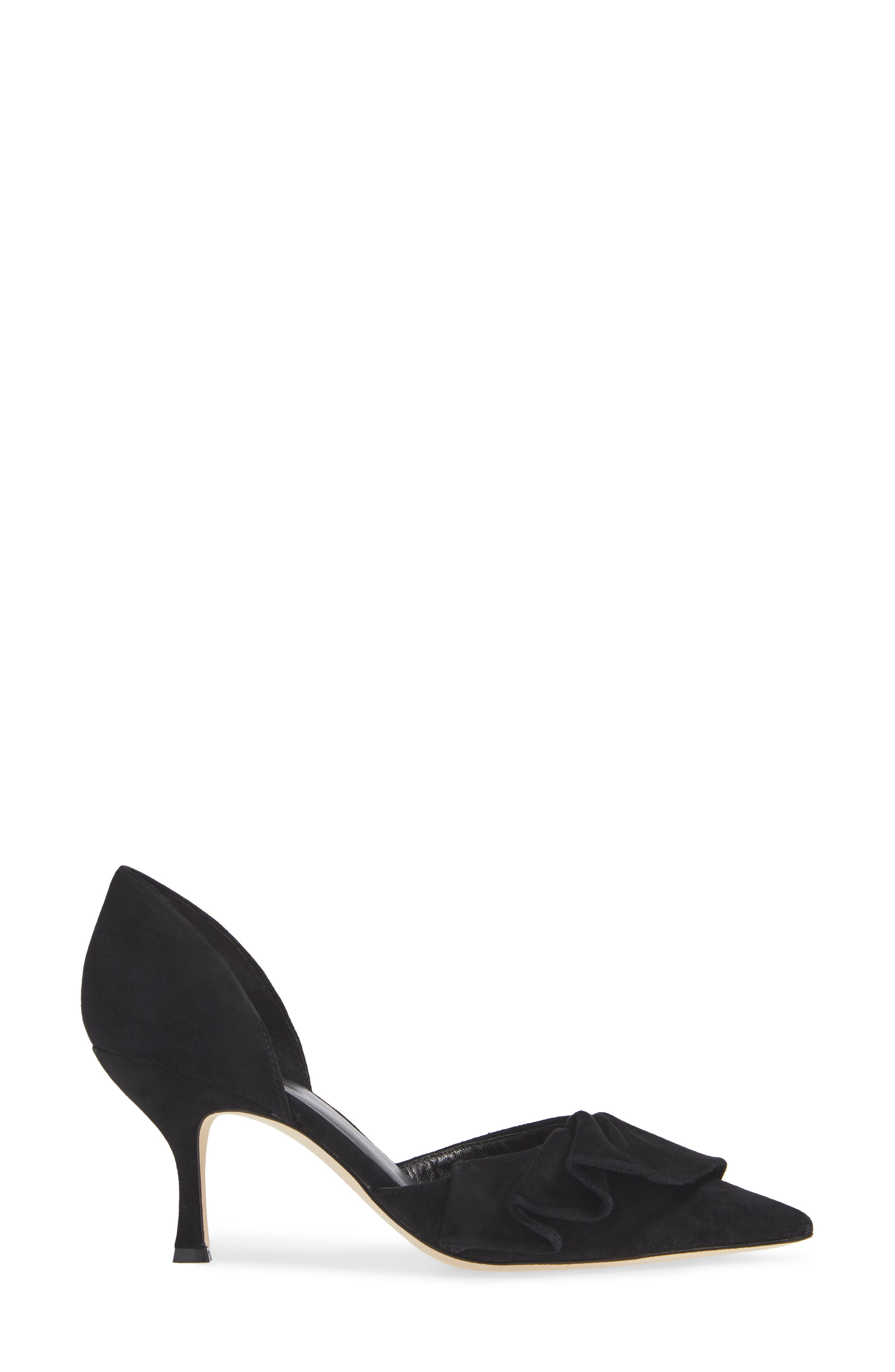 KATE SPADE NEW YORK,                             shayna d'orsay pump,                             Alternate thumbnail 3, color,                             006
