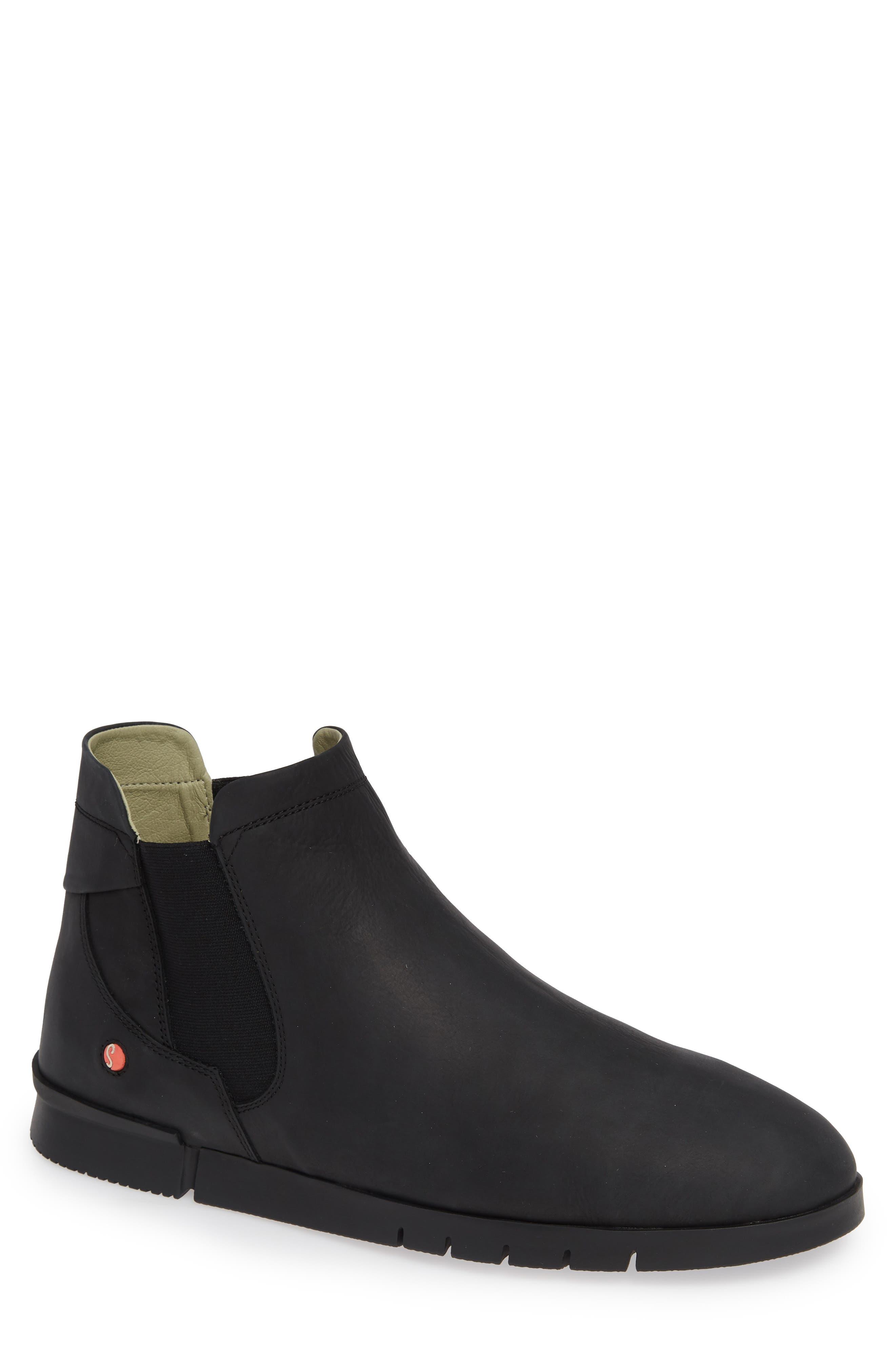 Cae Boot,                             Main thumbnail 1, color,                             BLACK CORGI LEATHER