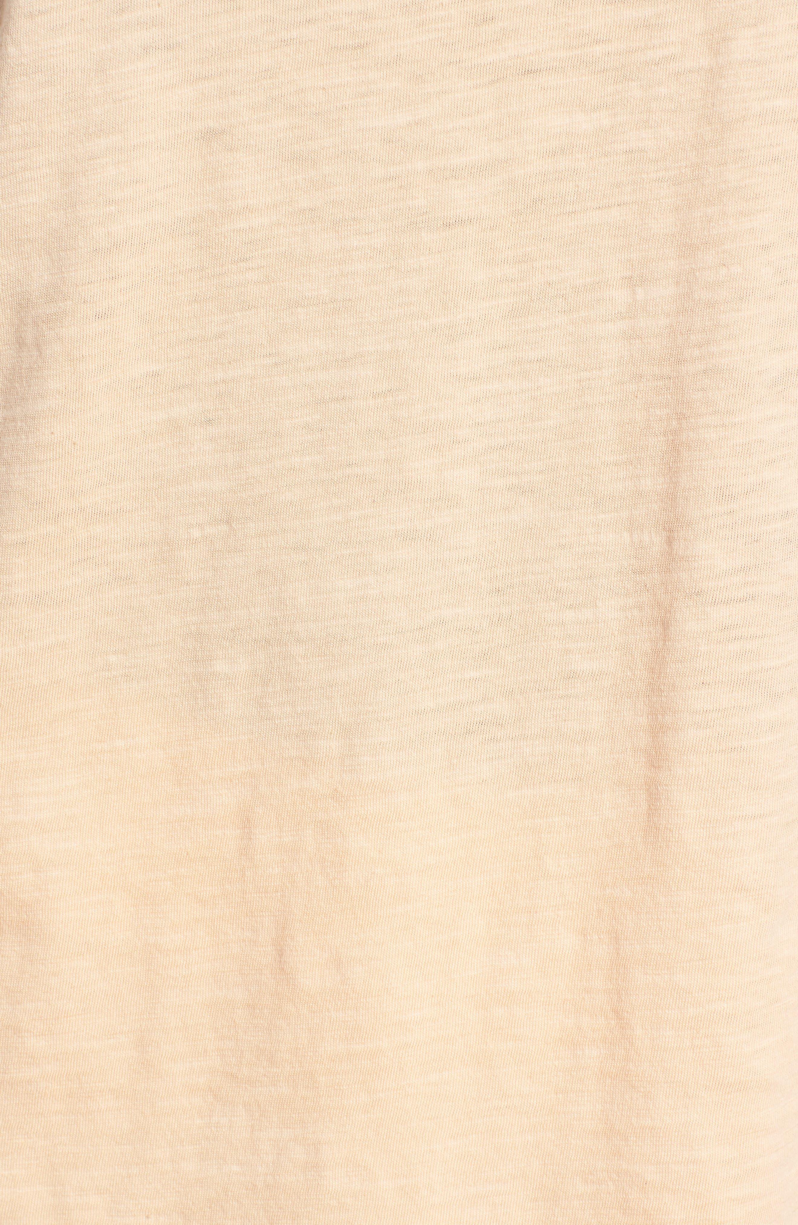 Organic Cotton V-Neck Tee,                             Alternate thumbnail 91, color,