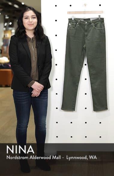 The Isabelle High Waist Crop Straight Leg Jeans, sales video thumbnail