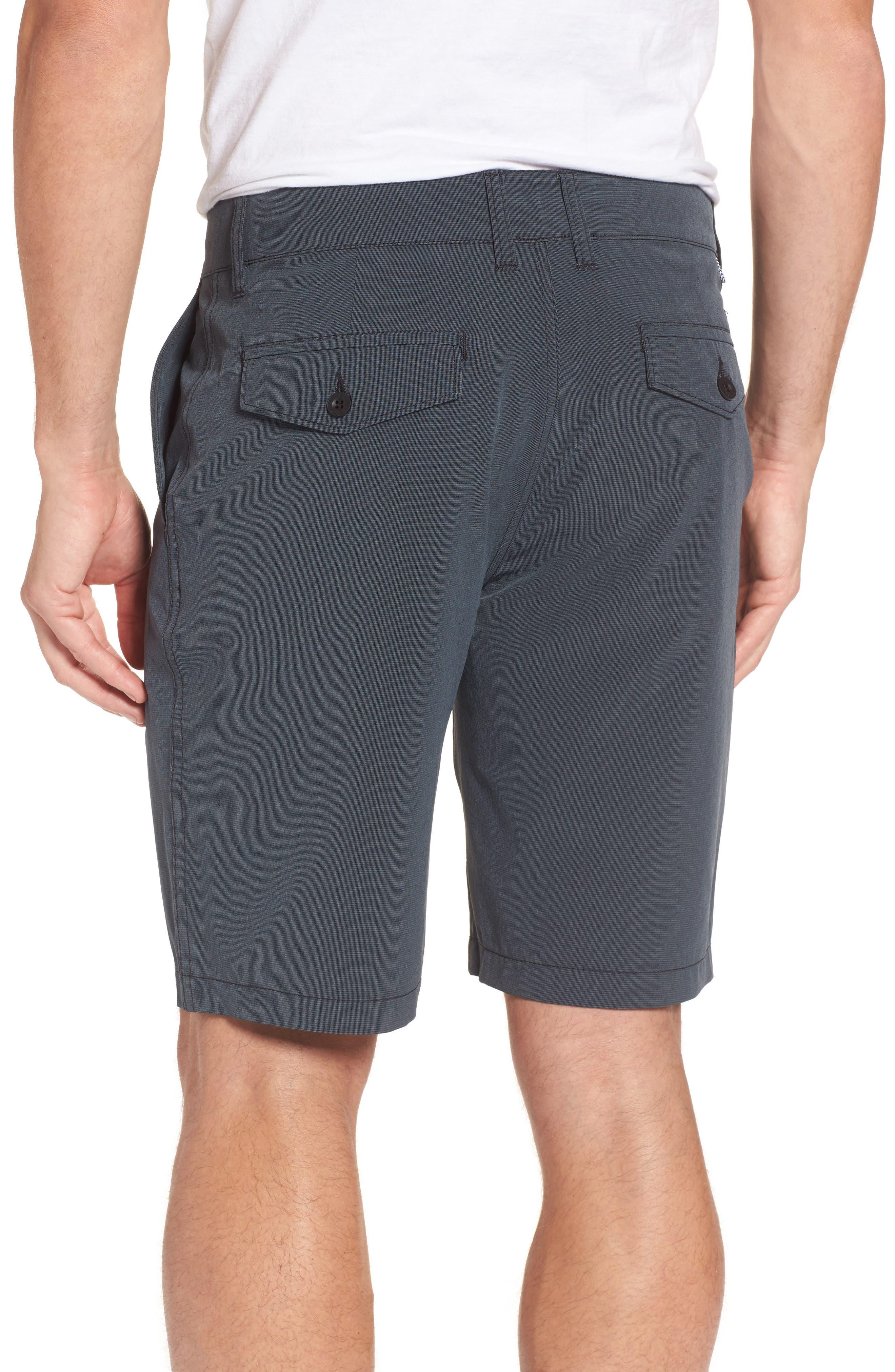 Grid Hybrid Shorts,                             Alternate thumbnail 2, color,                             001
