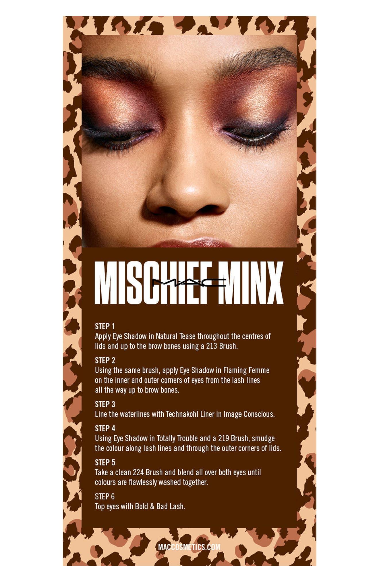 MAC Girls Mischief Minx Palette,                             Alternate thumbnail 4, color,                             MISCHIEF MINX