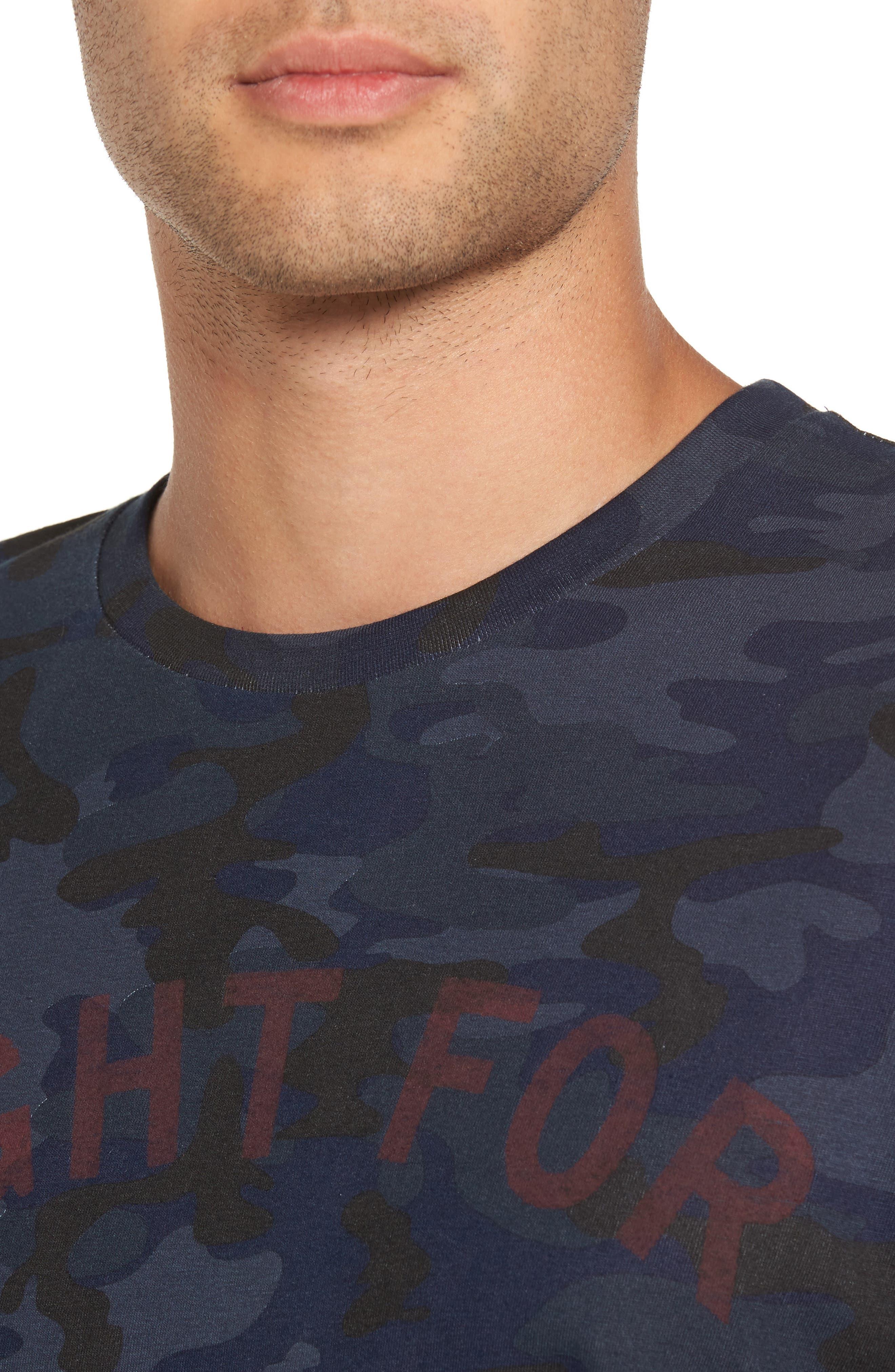 Noght T-Shirt,                             Alternate thumbnail 4, color,                             001