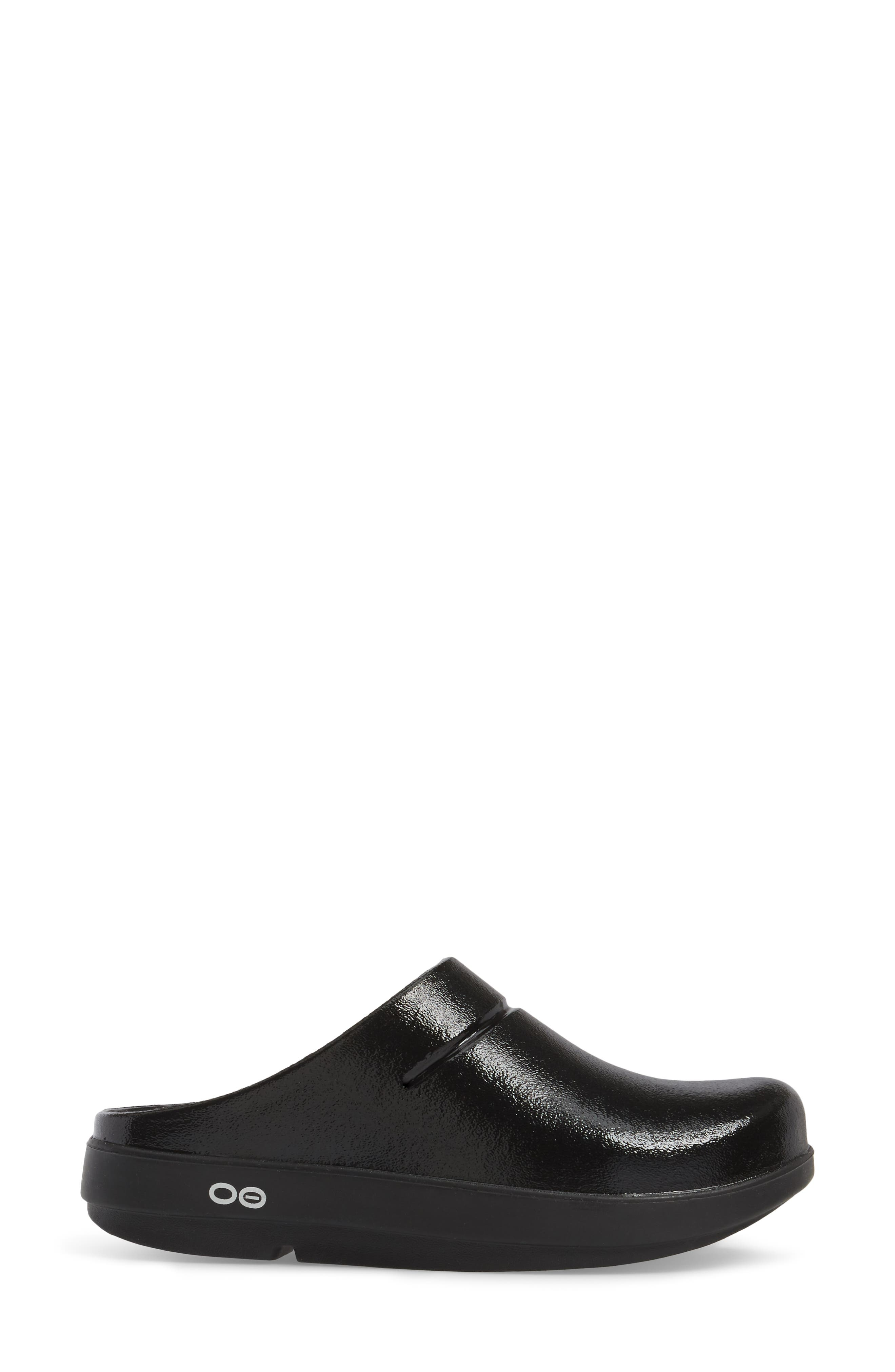 OOcloog Luxe Clog,                             Alternate thumbnail 3, color,                             001