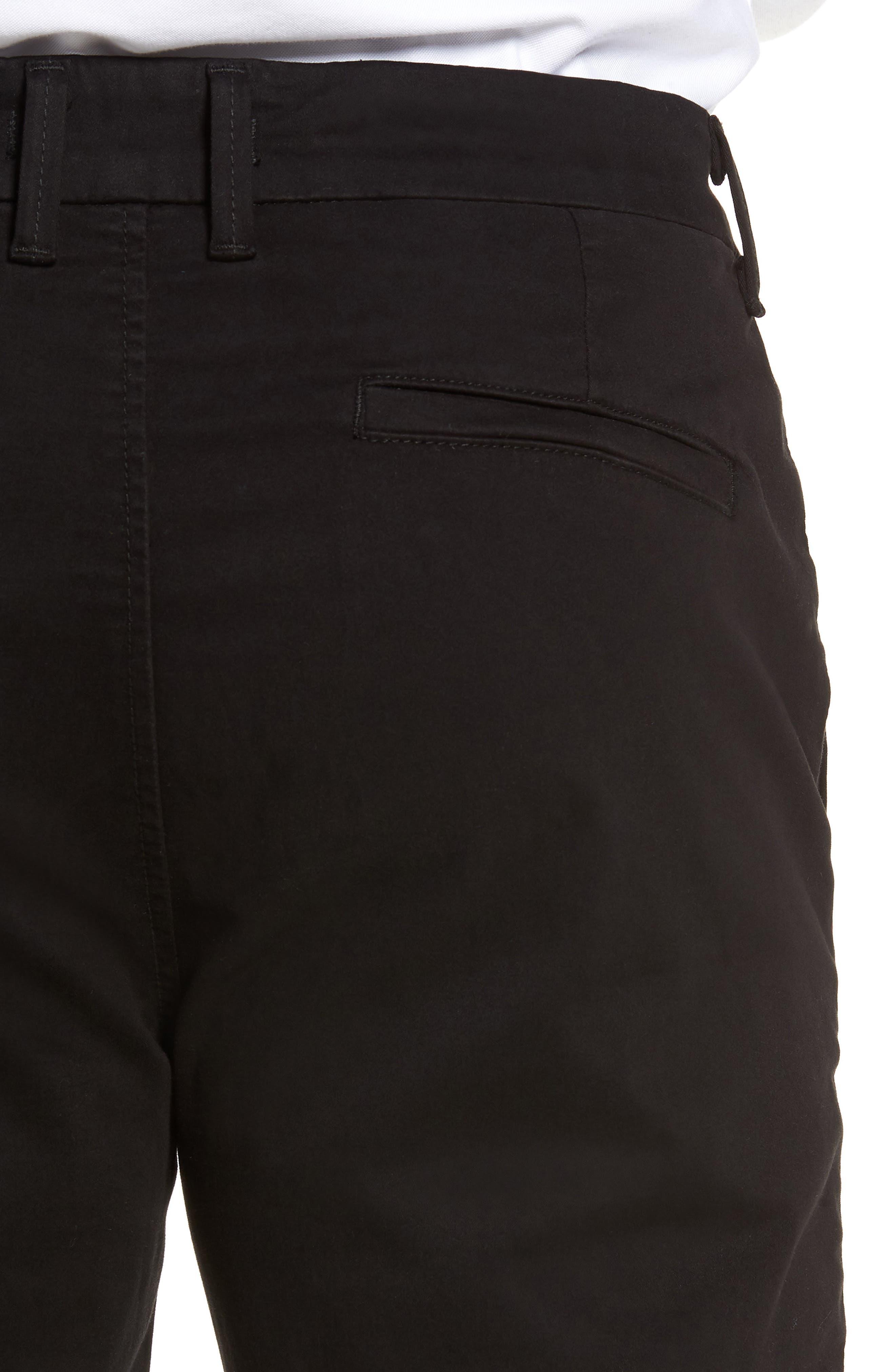 FIDELITY DENIM,                             Weekend Slim Fit Chino Pants,                             Alternate thumbnail 4, color,                             001