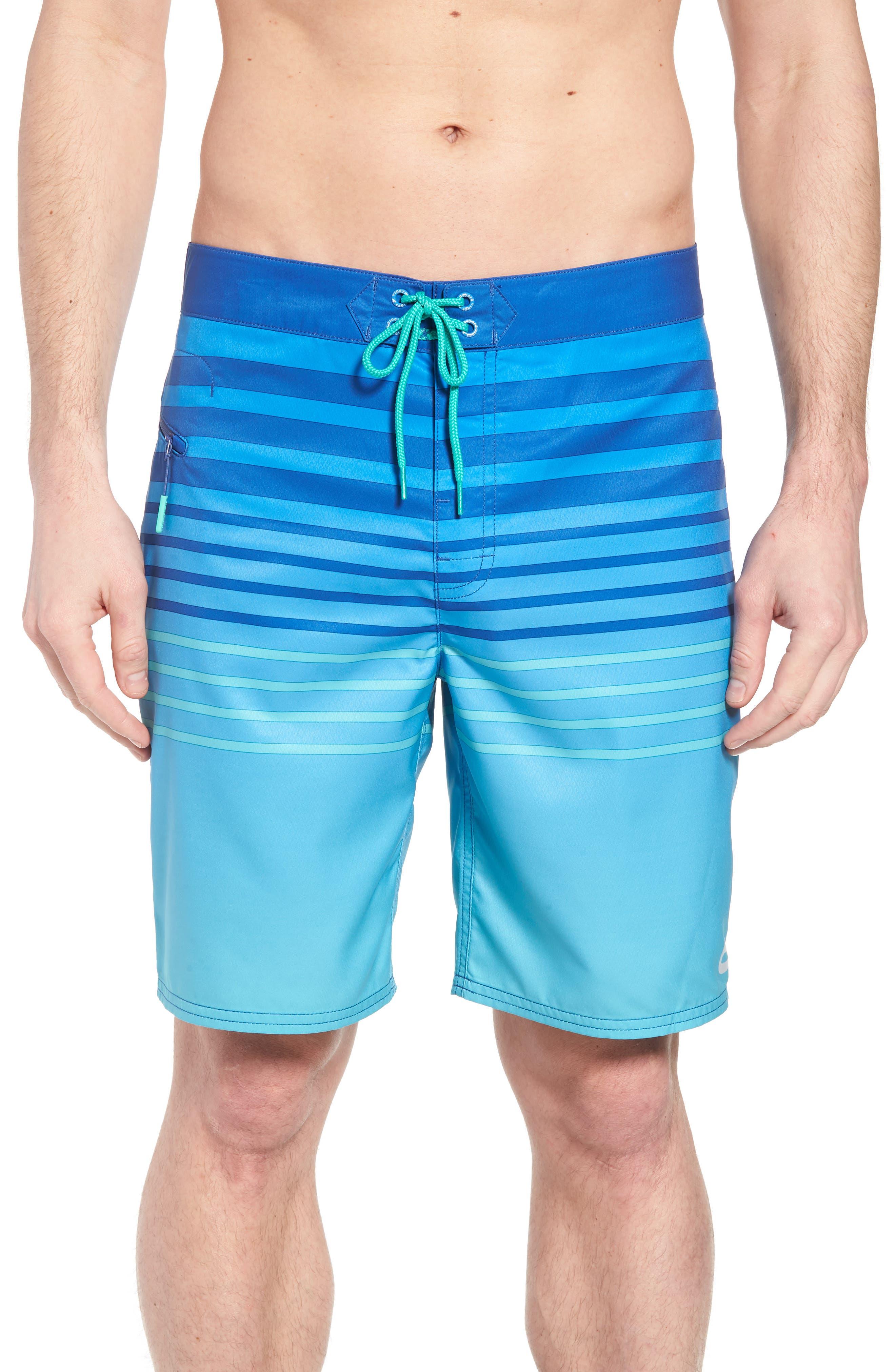 Surflodge Stripe Board Shorts,                             Main thumbnail 1, color,                             359
