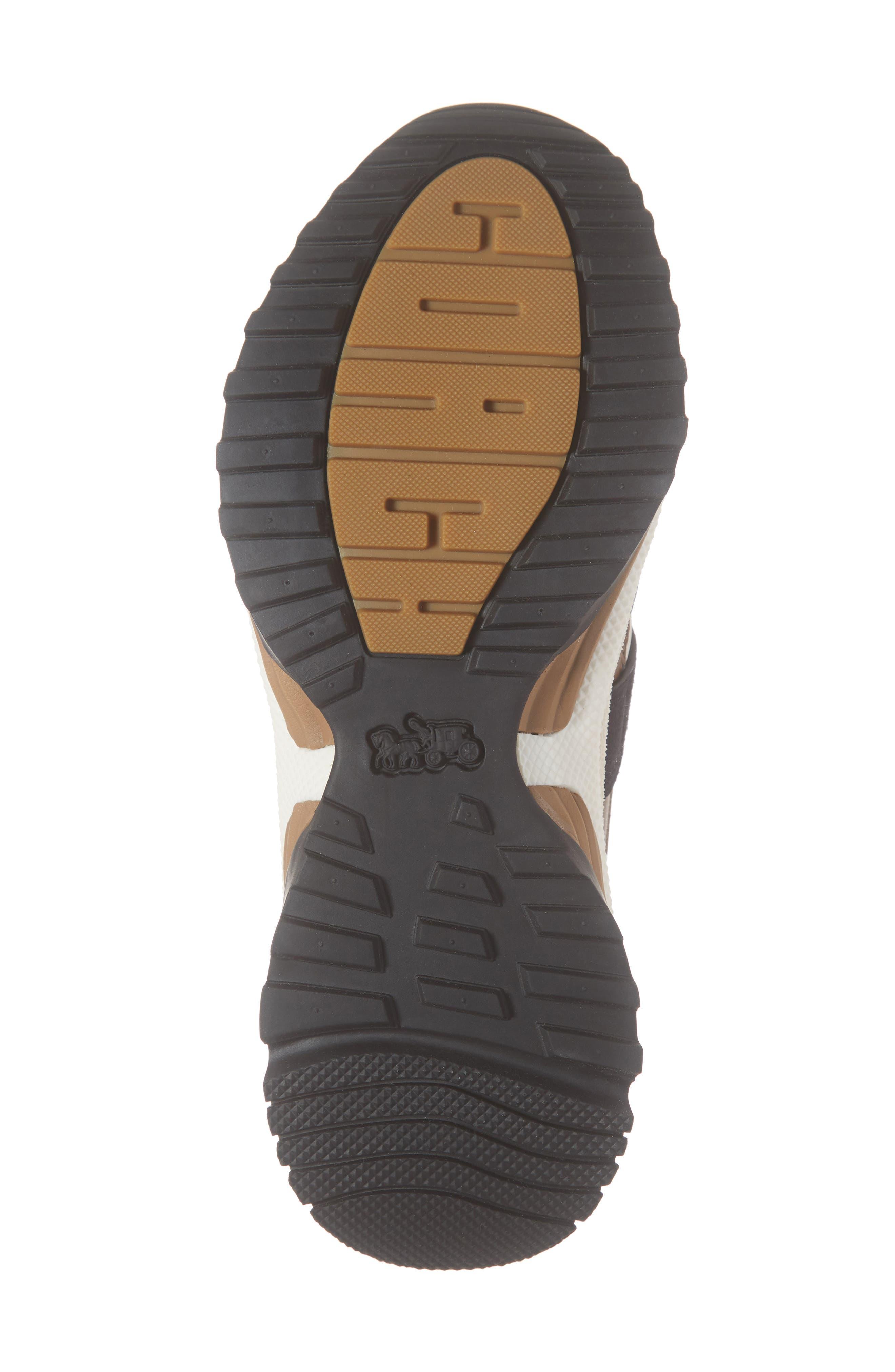 C143 Studded Sneaker,                             Alternate thumbnail 6, color,                             BLACK/ GUNMETAL LEATHER