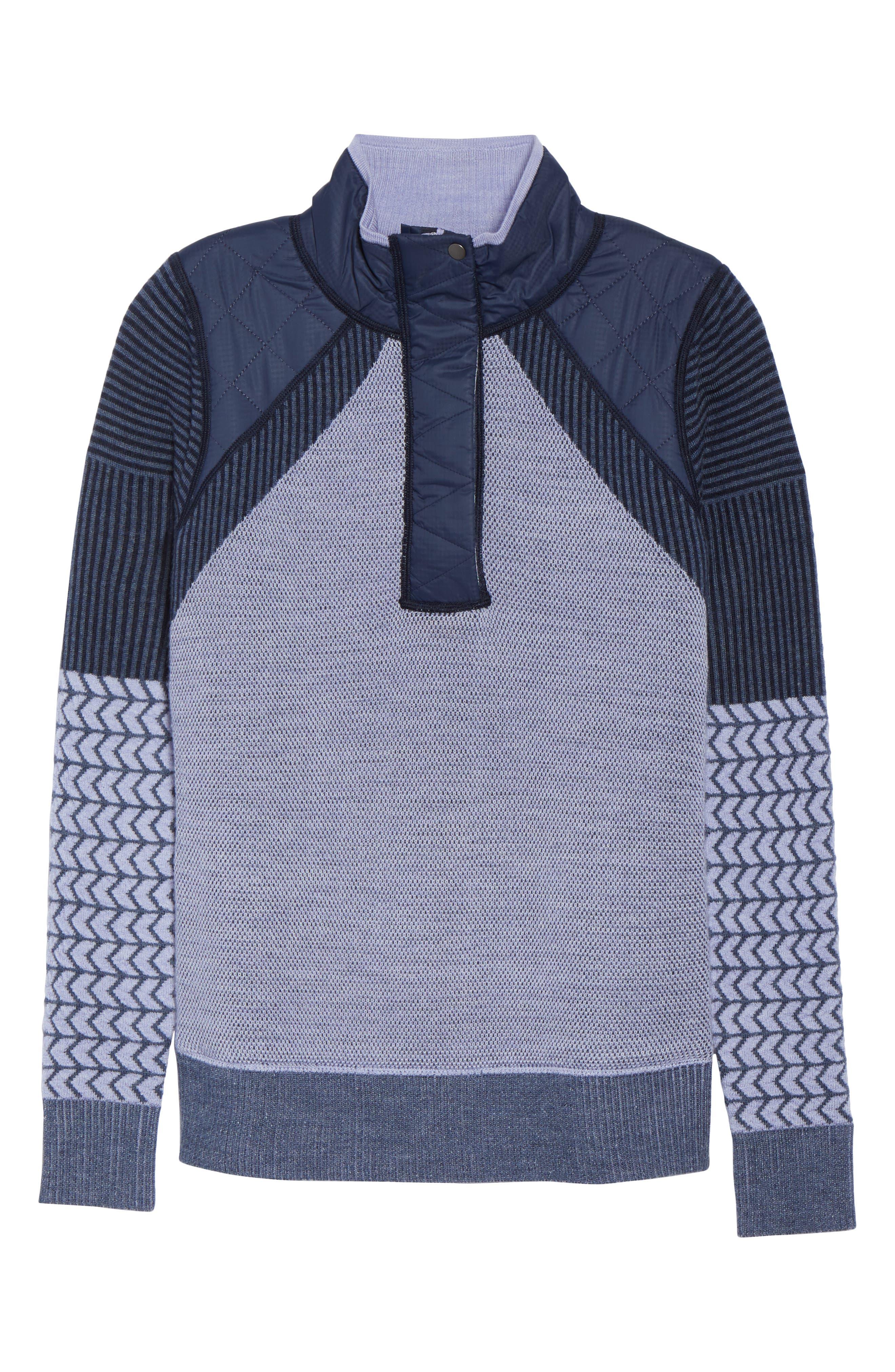 Ski Ninja Pullover Sweater,                             Alternate thumbnail 7, color,                             410
