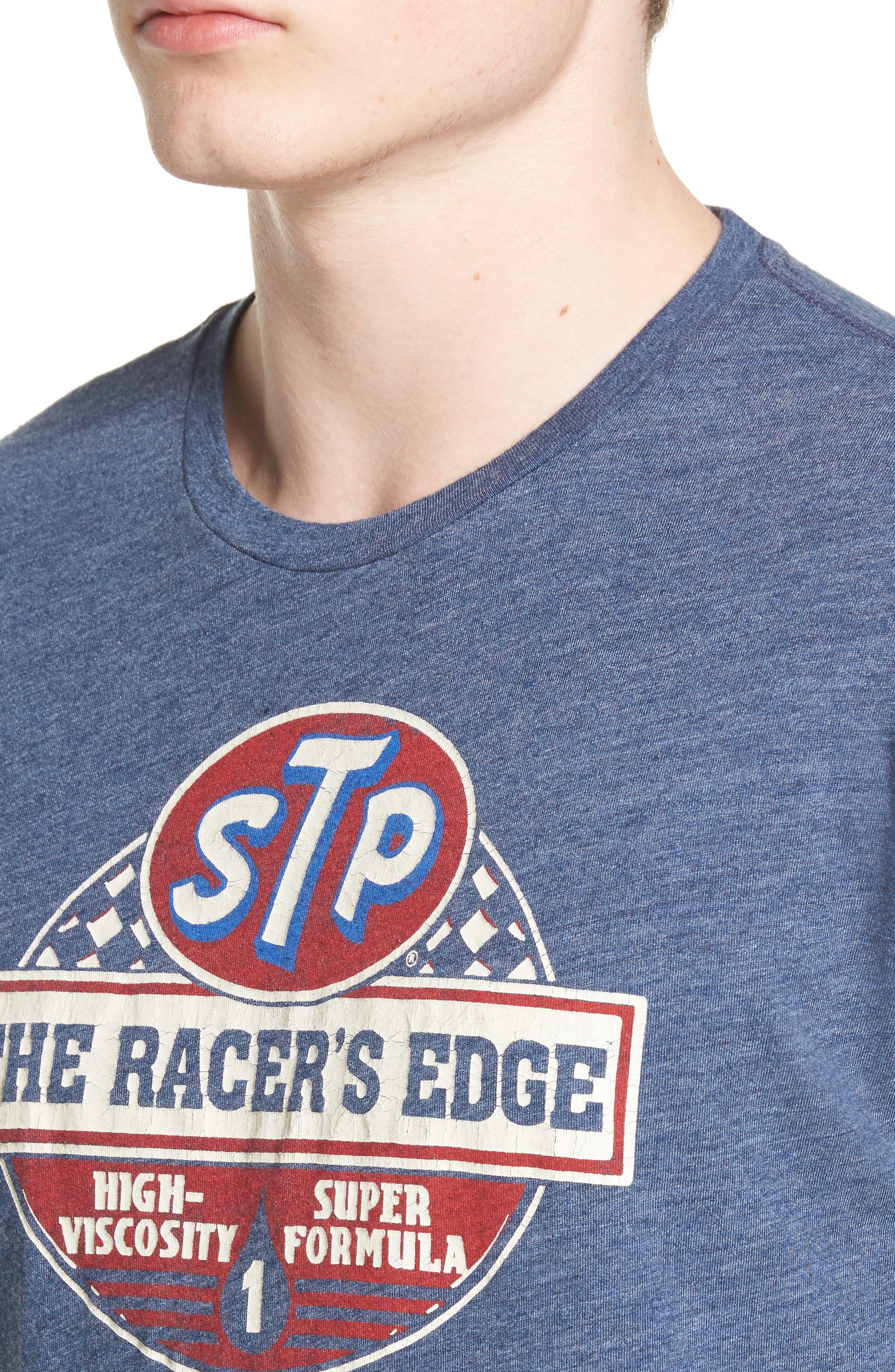 STP Racer's Edge Graphic T-Shirt,                             Alternate thumbnail 4, color,                             410