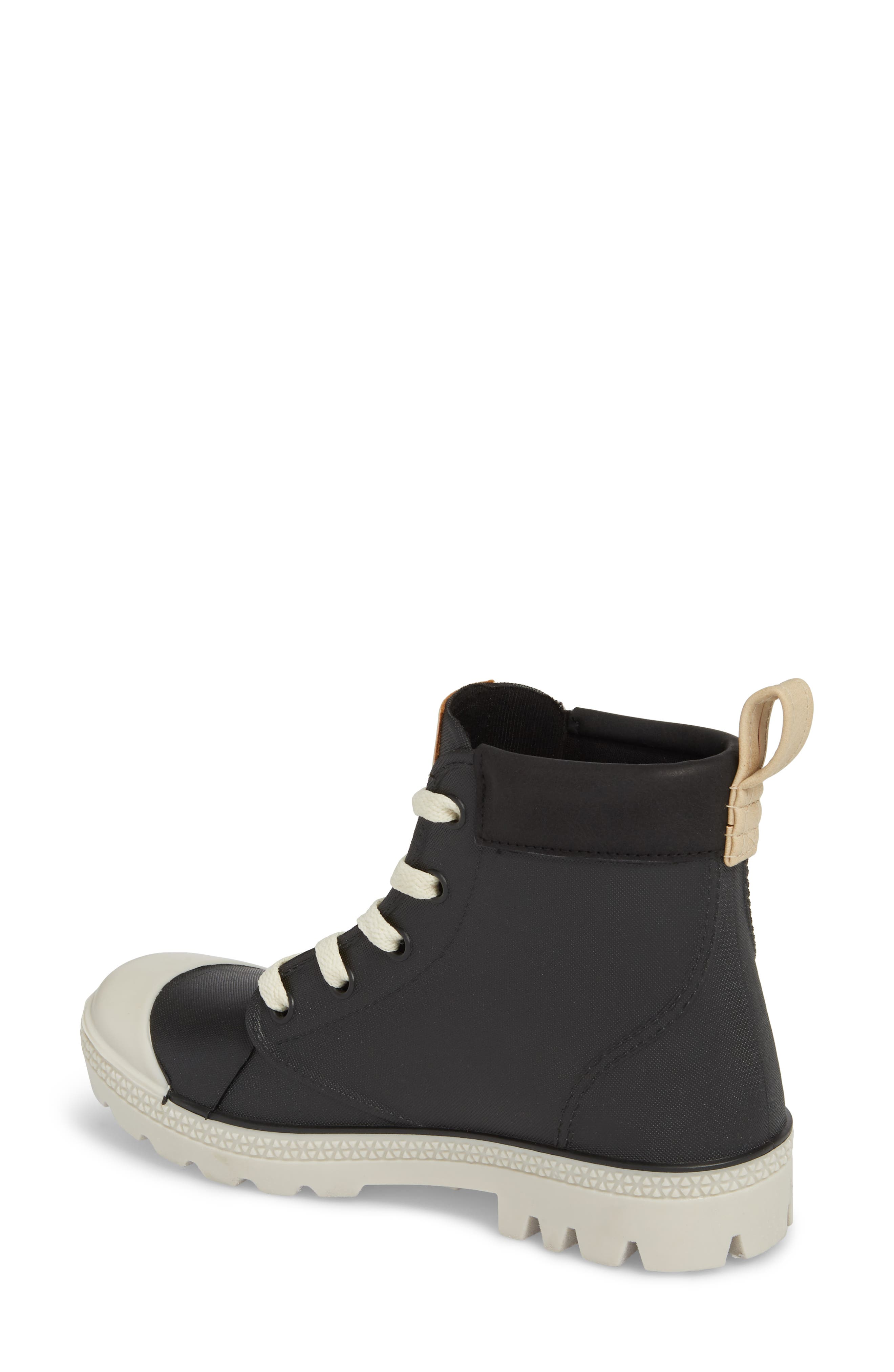 DÄV,                             Melrose Waterproof Sneaker Boot,                             Alternate thumbnail 2, color,                             BLACK