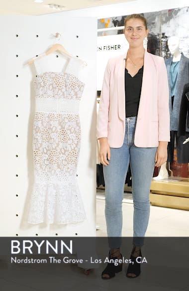 Capri Floral Lace Midi Dress, sales video thumbnail