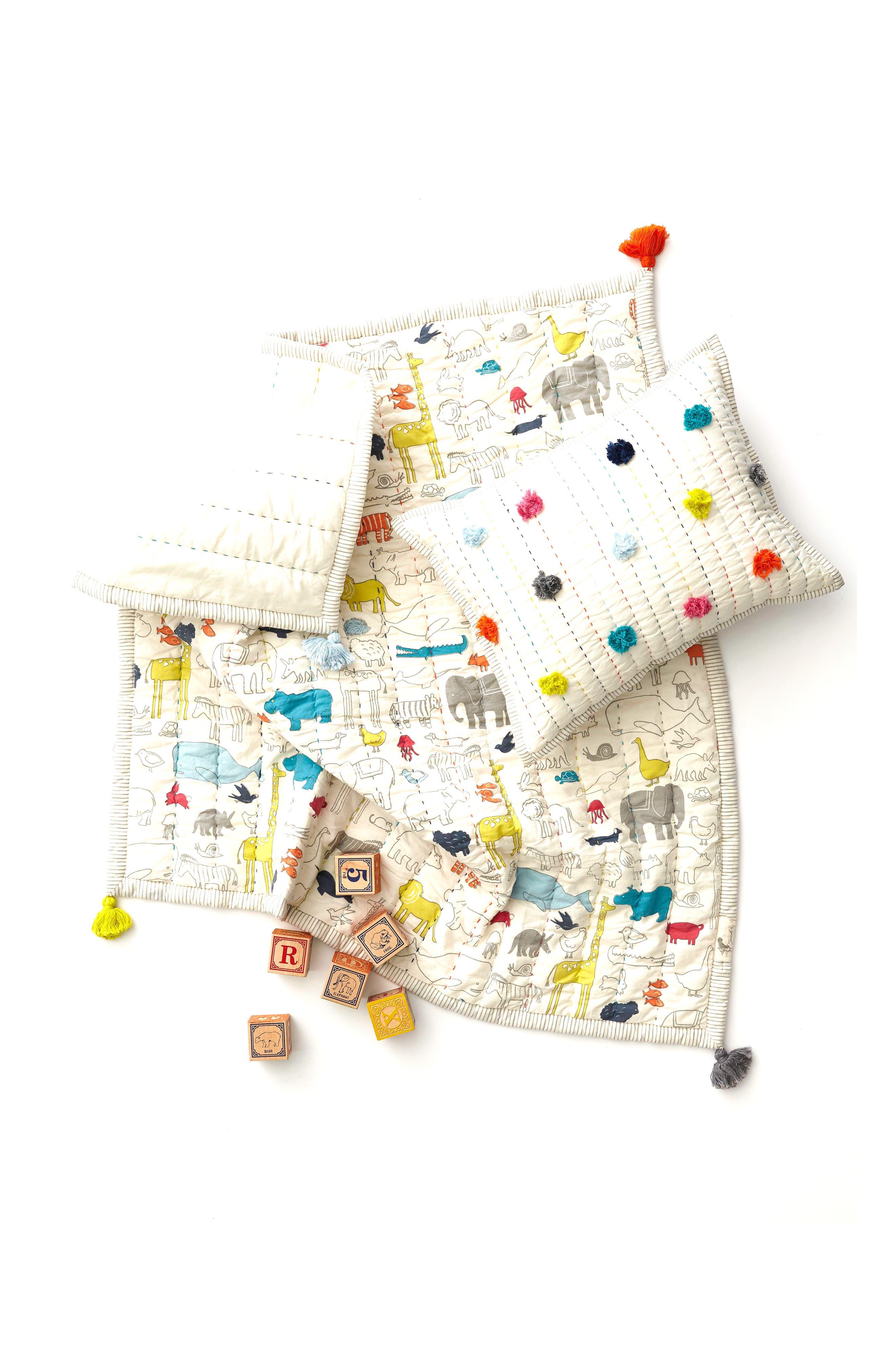 PEHR,                             Noahs Ark Play Blanket,                             Alternate thumbnail 2, color,                             NOAHS ARK