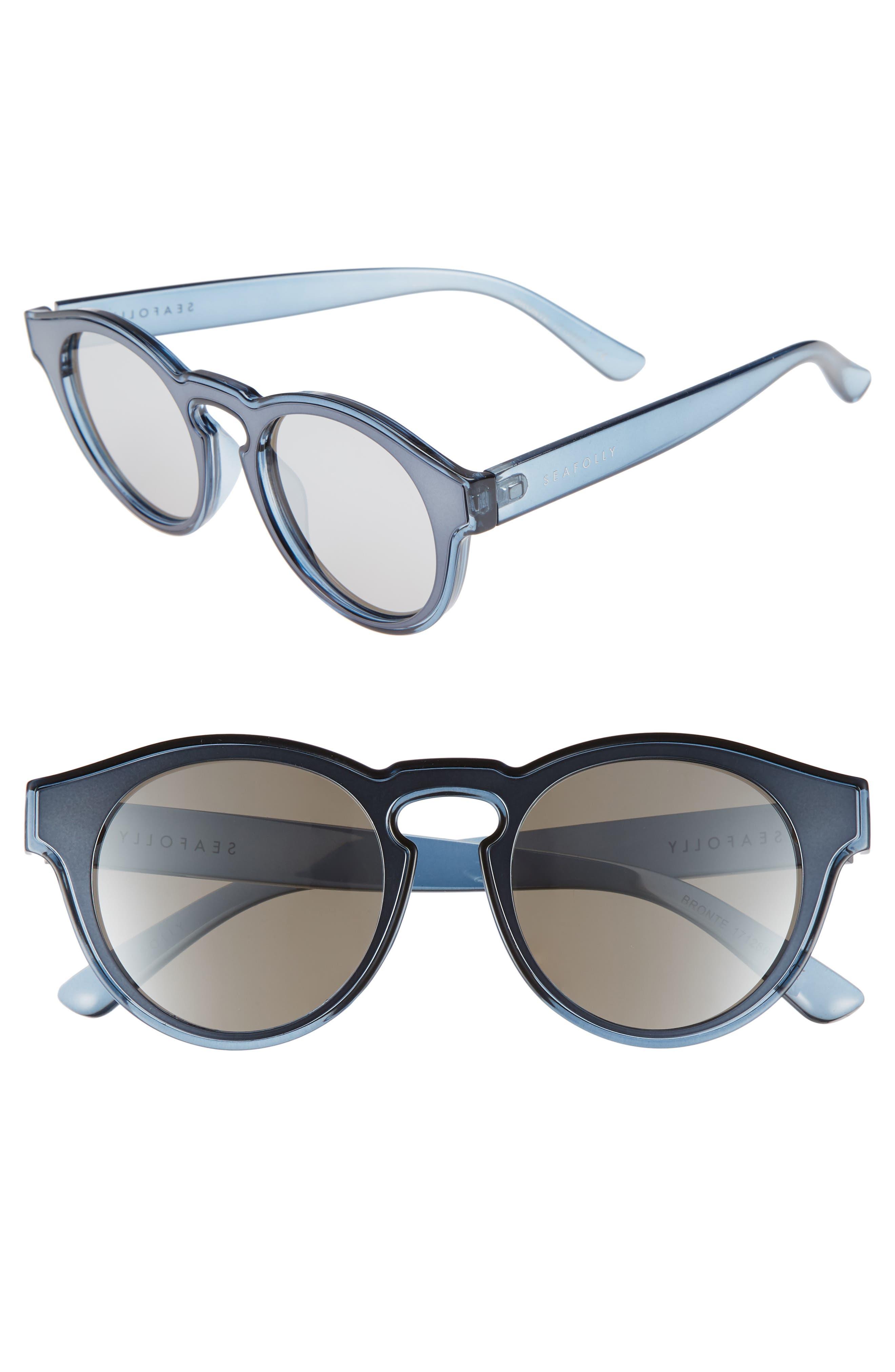 SEAFOLLY Bronte 50mm Sunglasses, Main, color, 400
