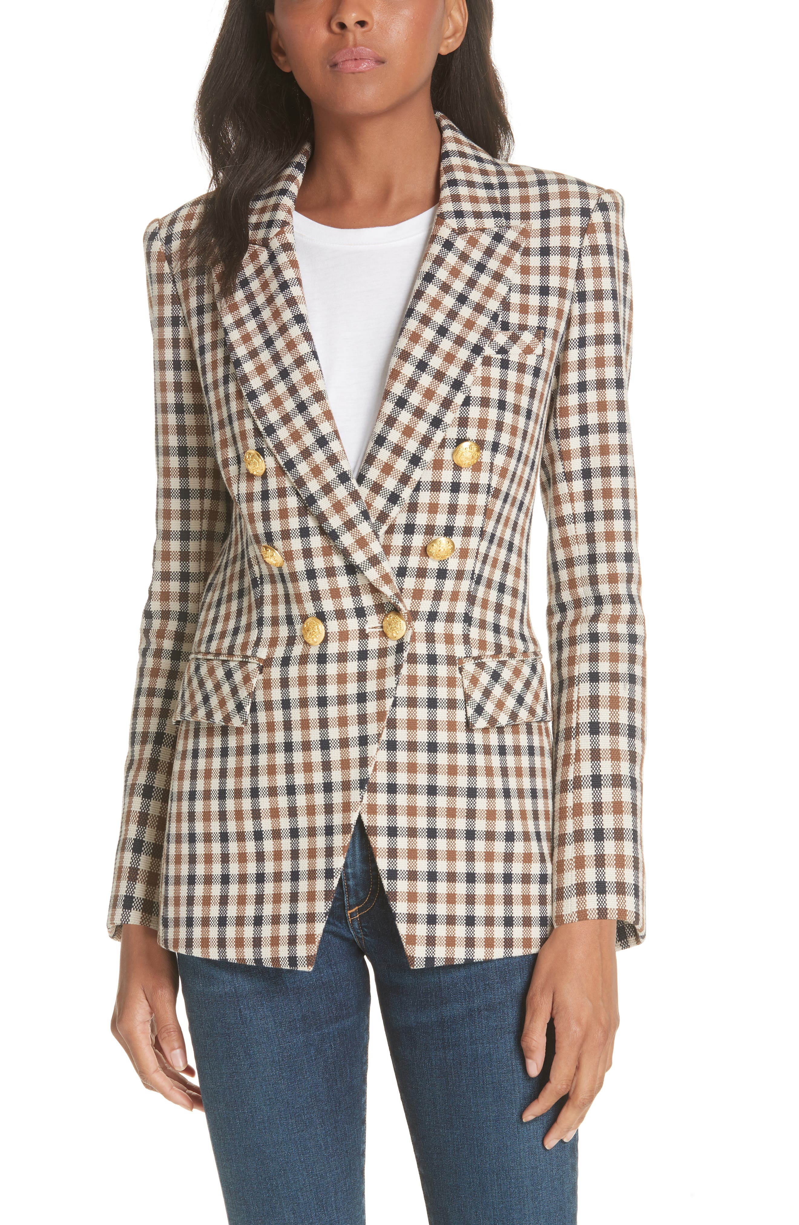 Lonny Houndstooth Dickey Jacket,                         Main,                         color, 241