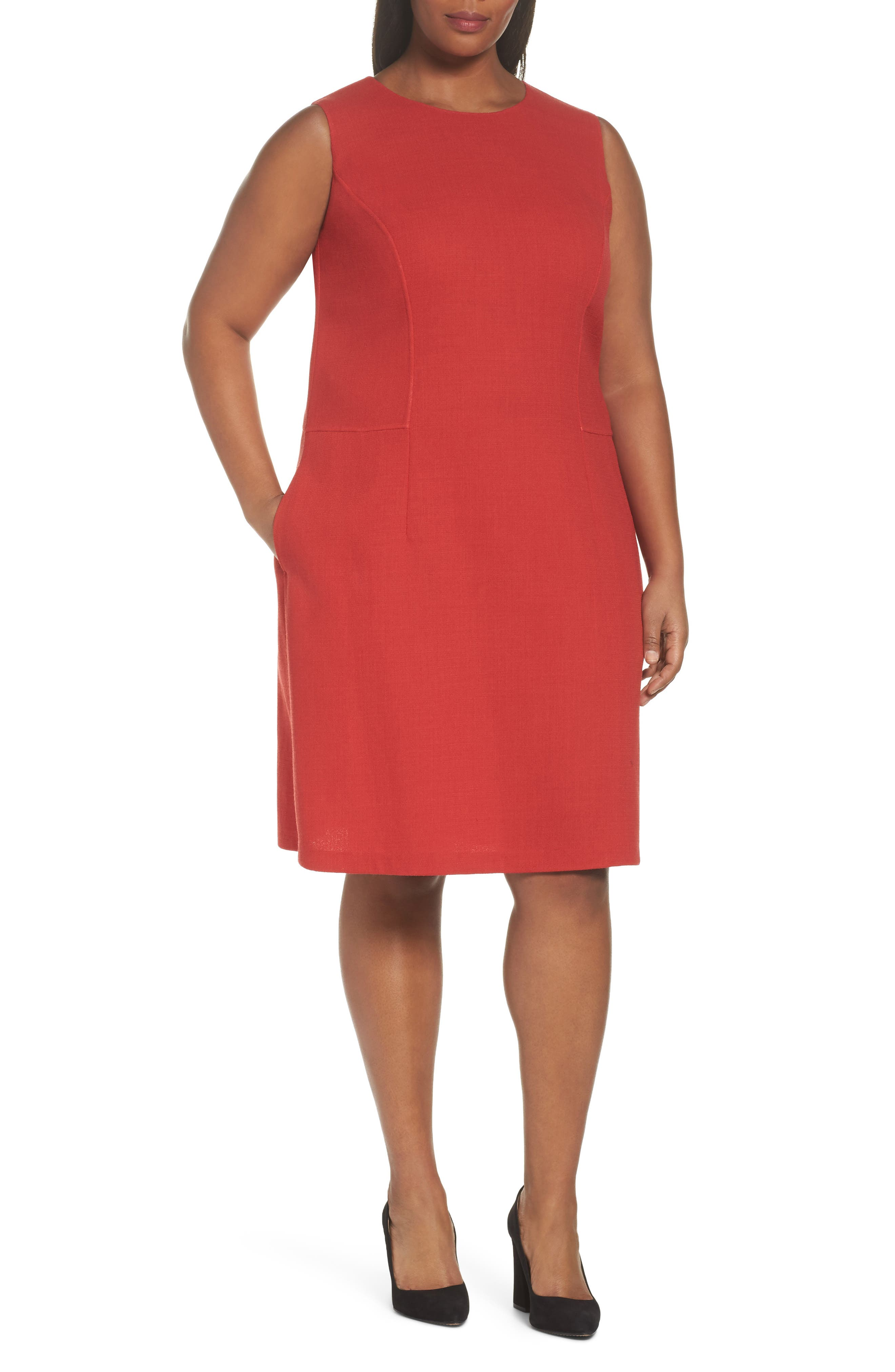 Selita Nouveau Crepe Dress,                         Main,                         color, 892