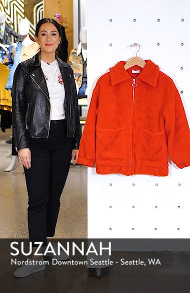 Oversized Fleece Jacket, sales video thumbnail