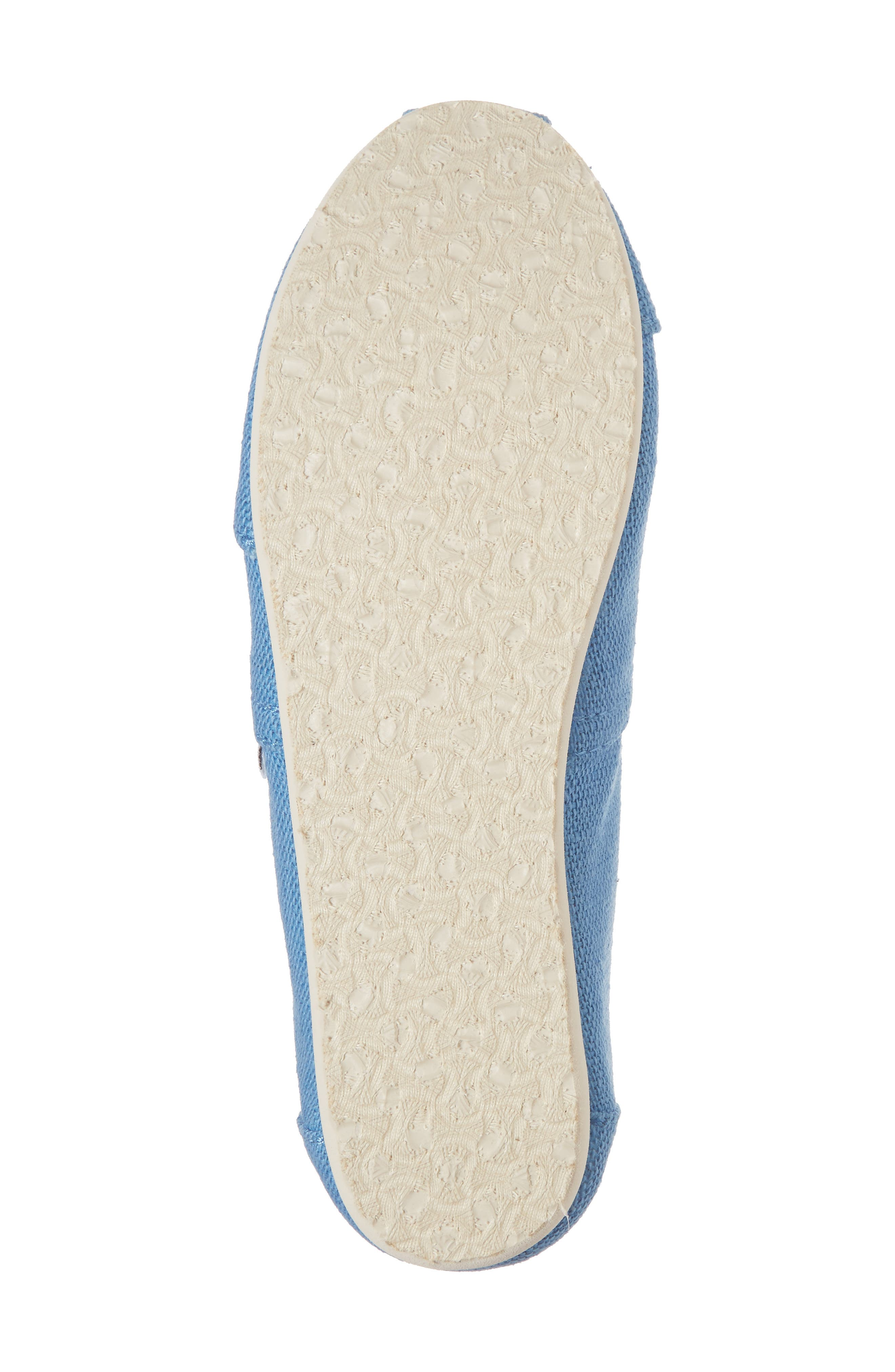 Classic Print Slip-On,                             Alternate thumbnail 6, color,                             CLEAR SKY HERITAGE CANVAS