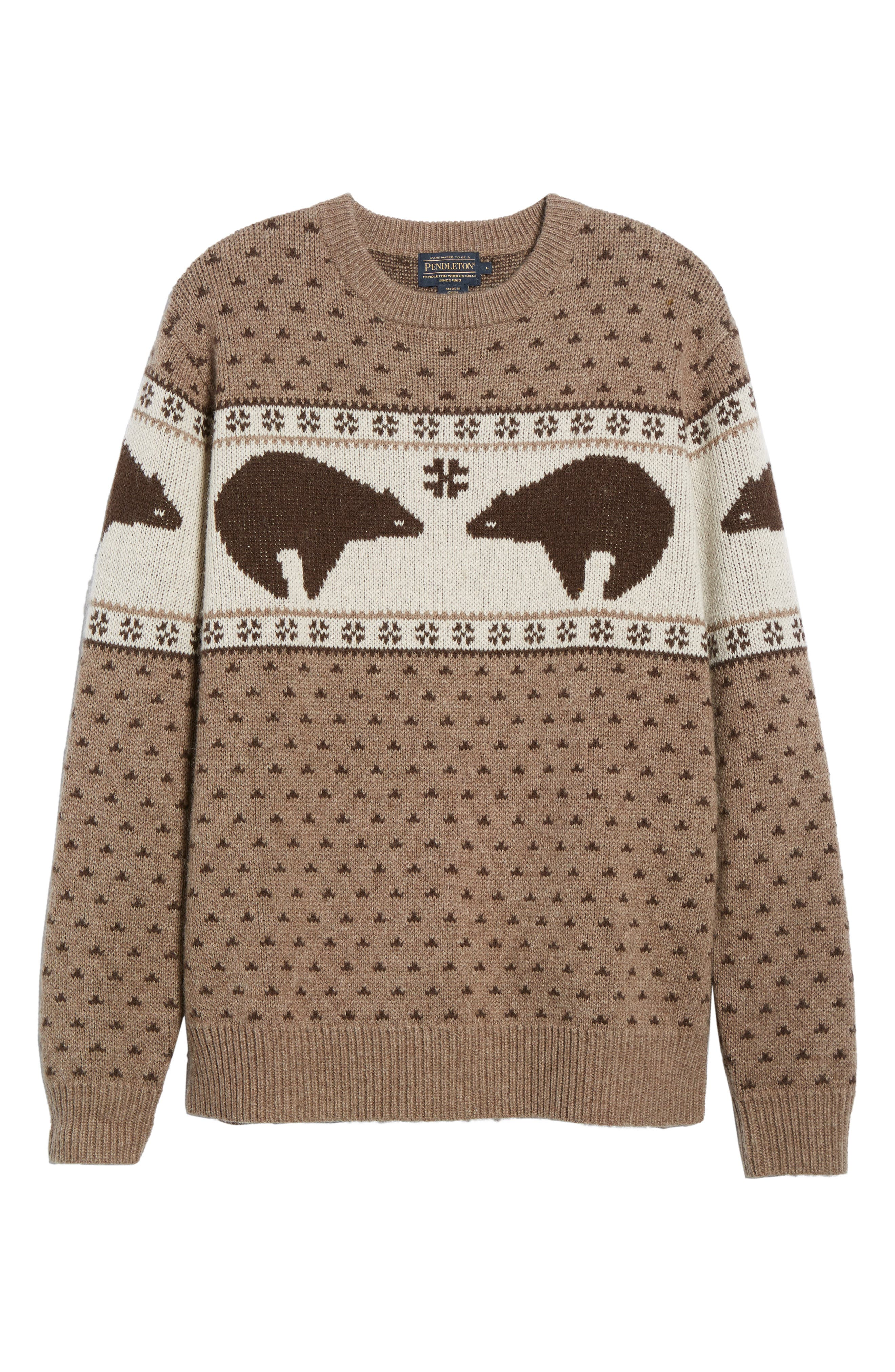 Bear Sweater,                             Alternate thumbnail 6, color,                             250