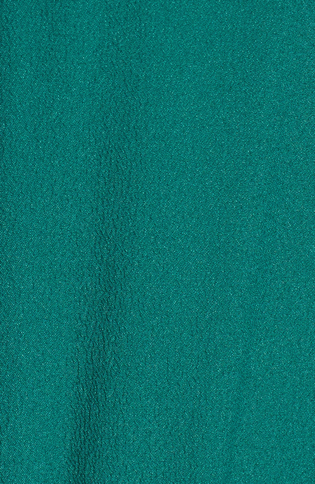 Crystal Embellished Ruffle Dress,                             Alternate thumbnail 5, color,                             300