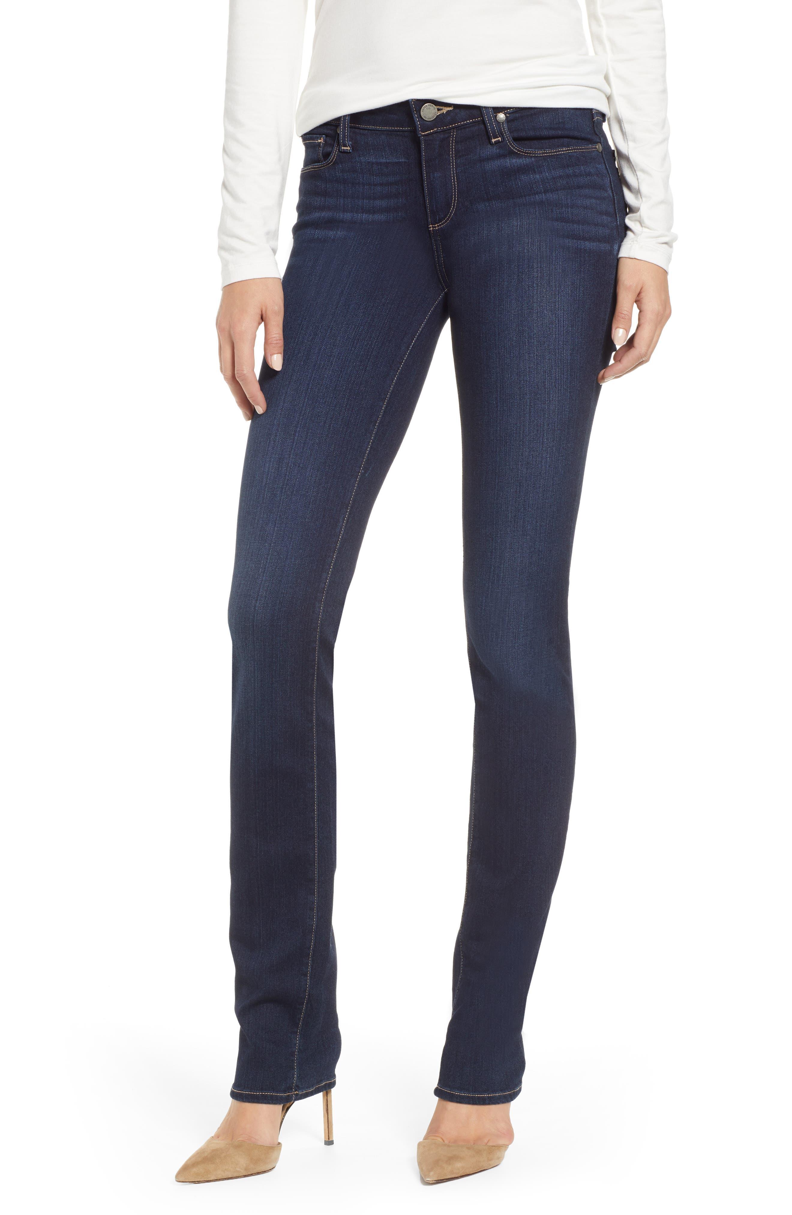 Transcend - Skyline Straight Leg Jeans,                         Main,                         color, GARDENA