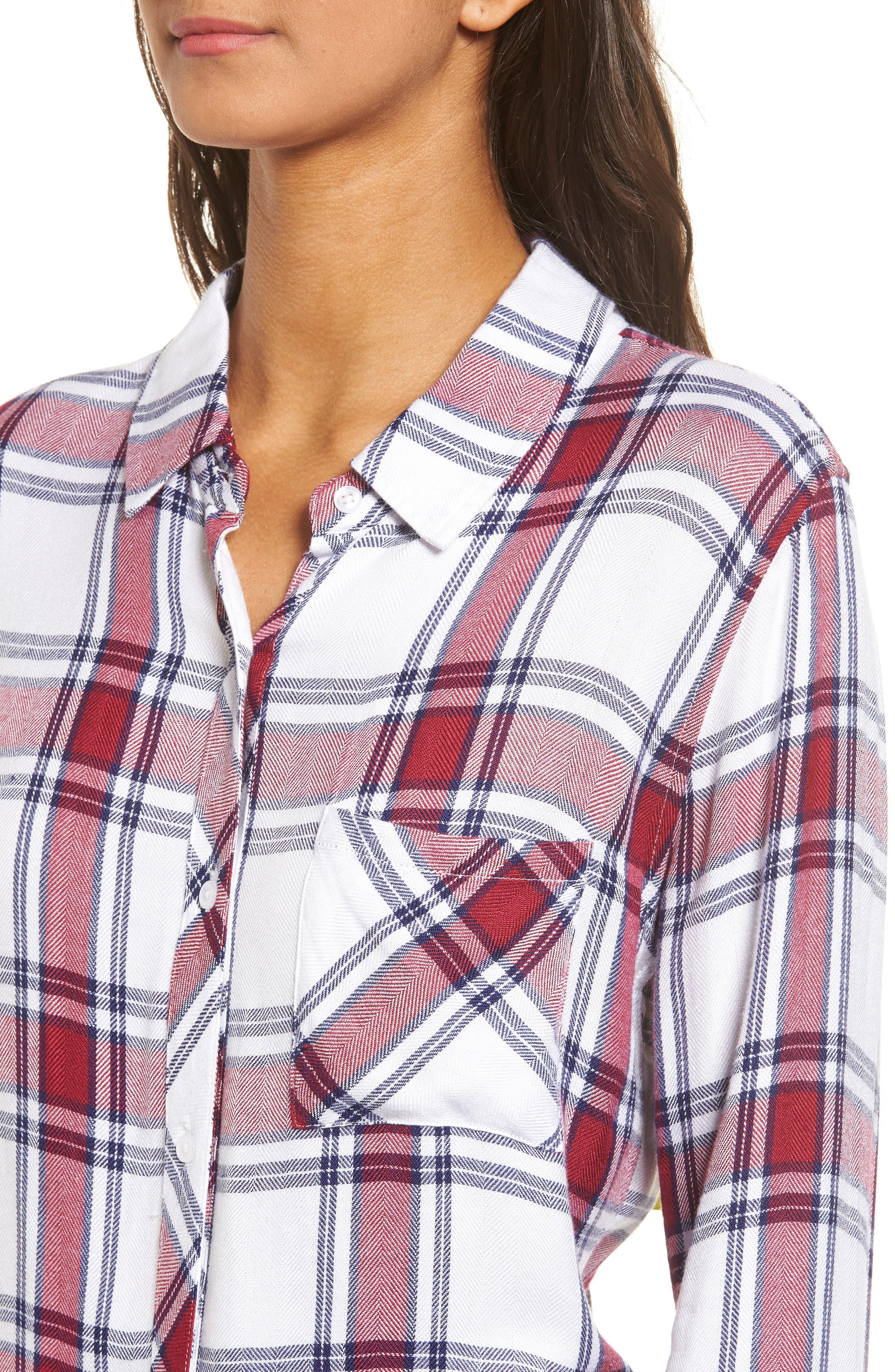 Hunter Plaid Shirt,                             Alternate thumbnail 491, color,