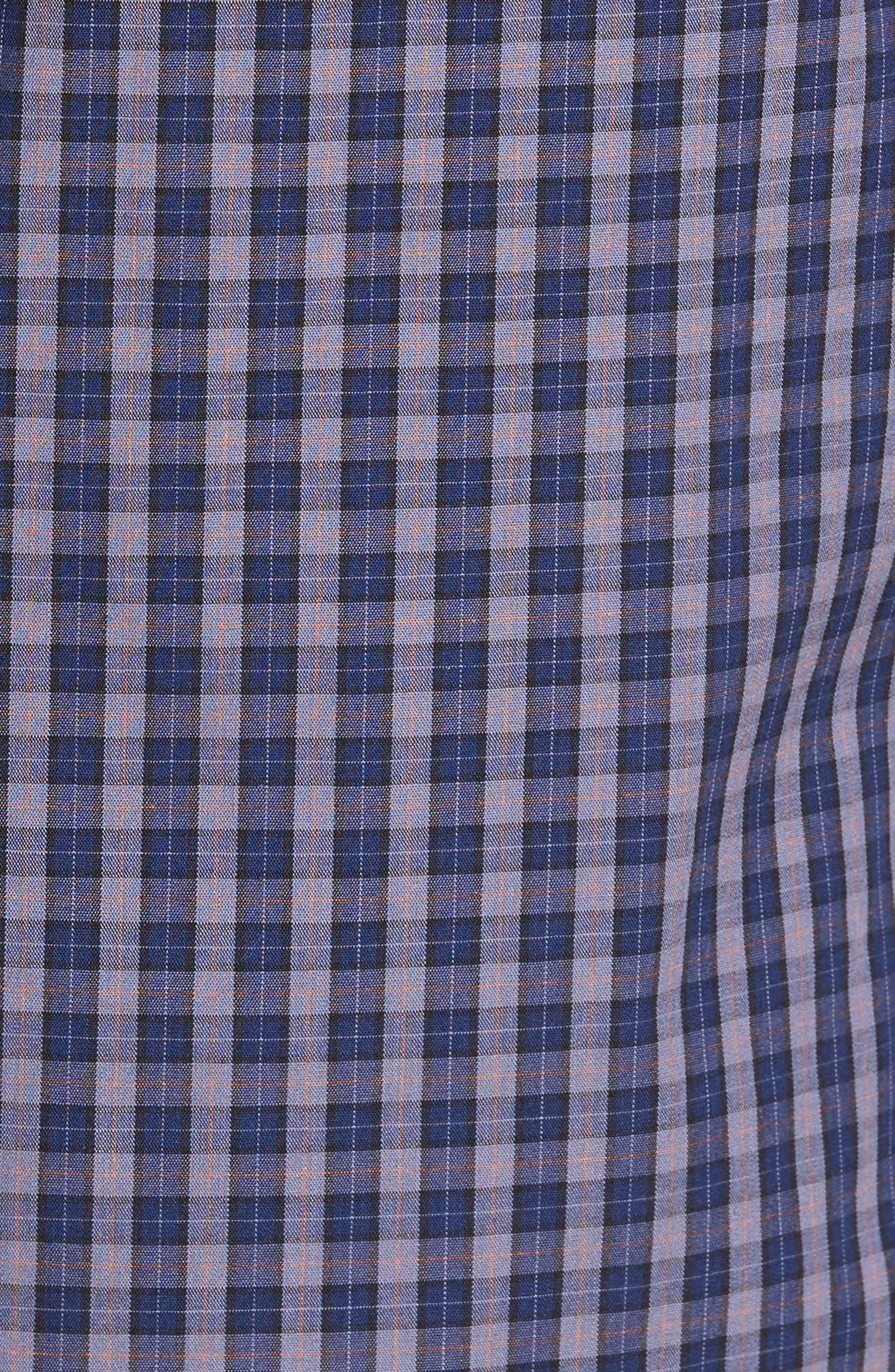 Tinto Plaid Sport Shirt,                             Alternate thumbnail 5, color,                             400
