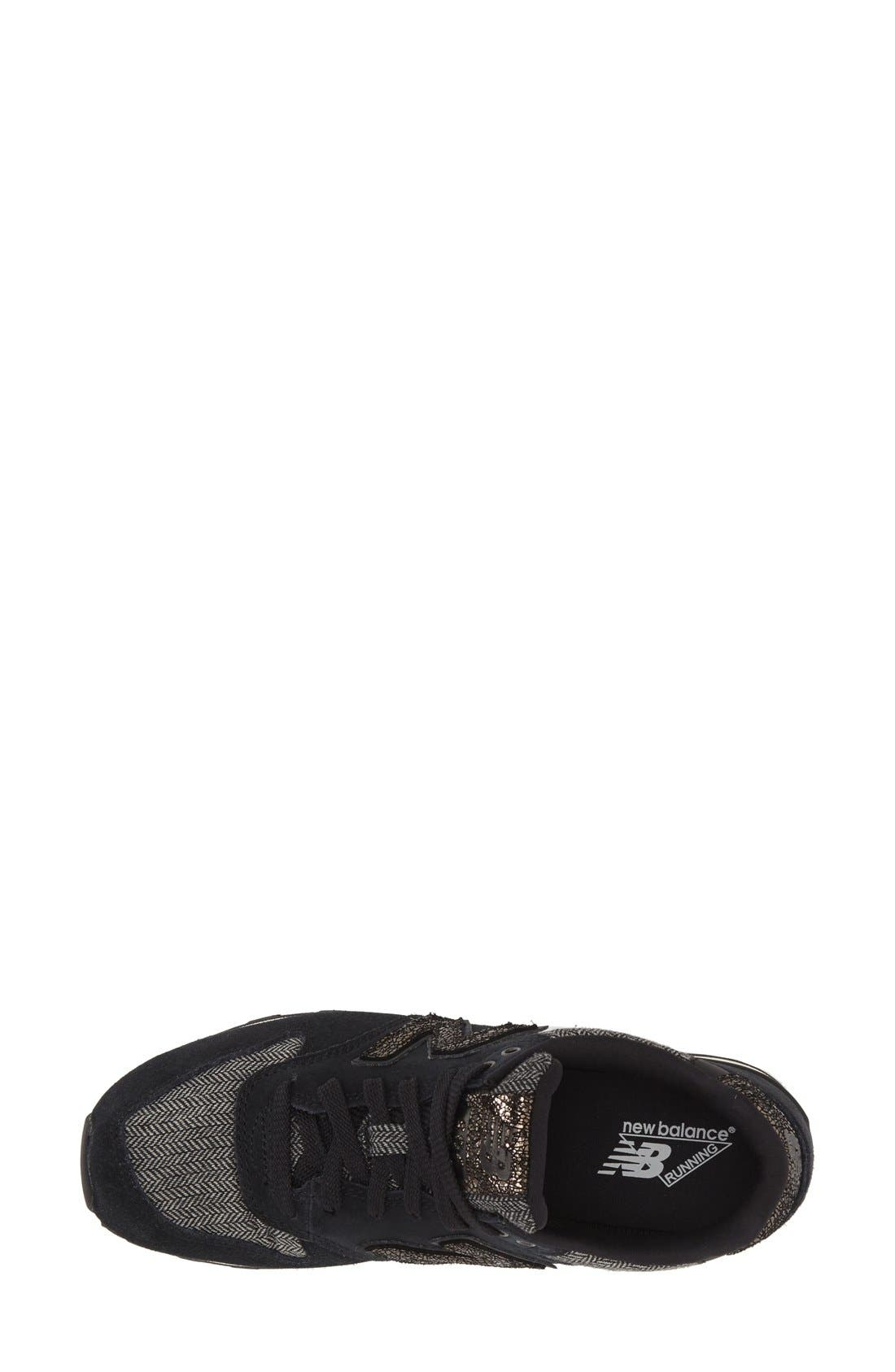 '696' Sneaker,                             Alternate thumbnail 3, color,                             001