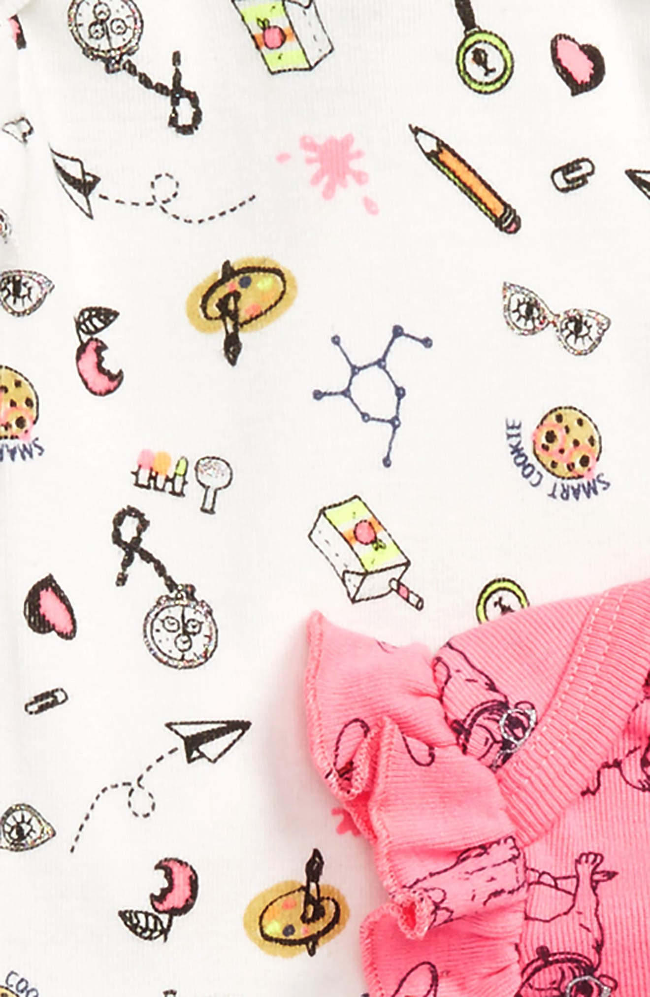Smart Cookie 5-Pack Bodysuits,                             Alternate thumbnail 2, color,