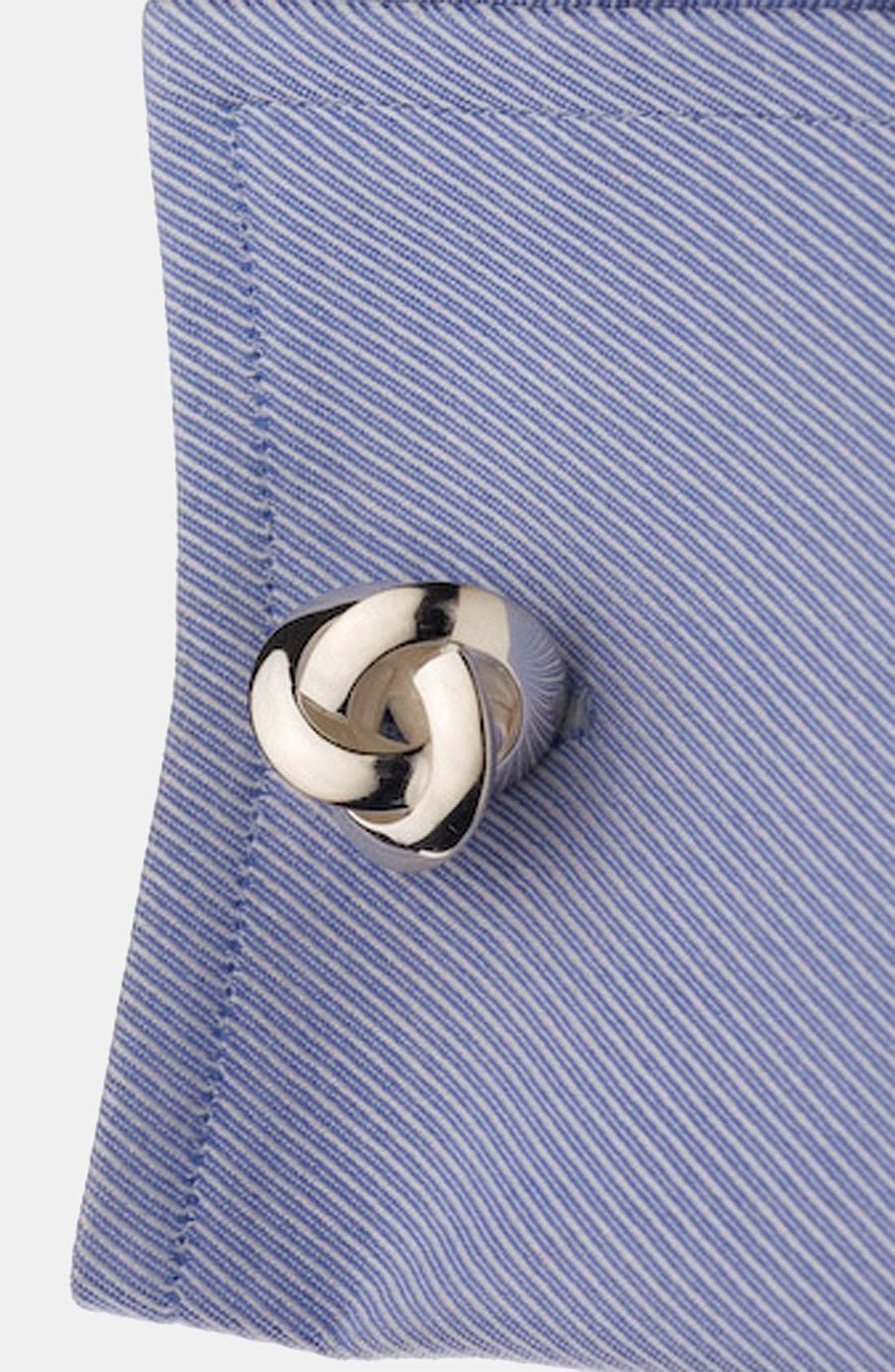 Knot Cuff Links,                             Alternate thumbnail 2, color,
