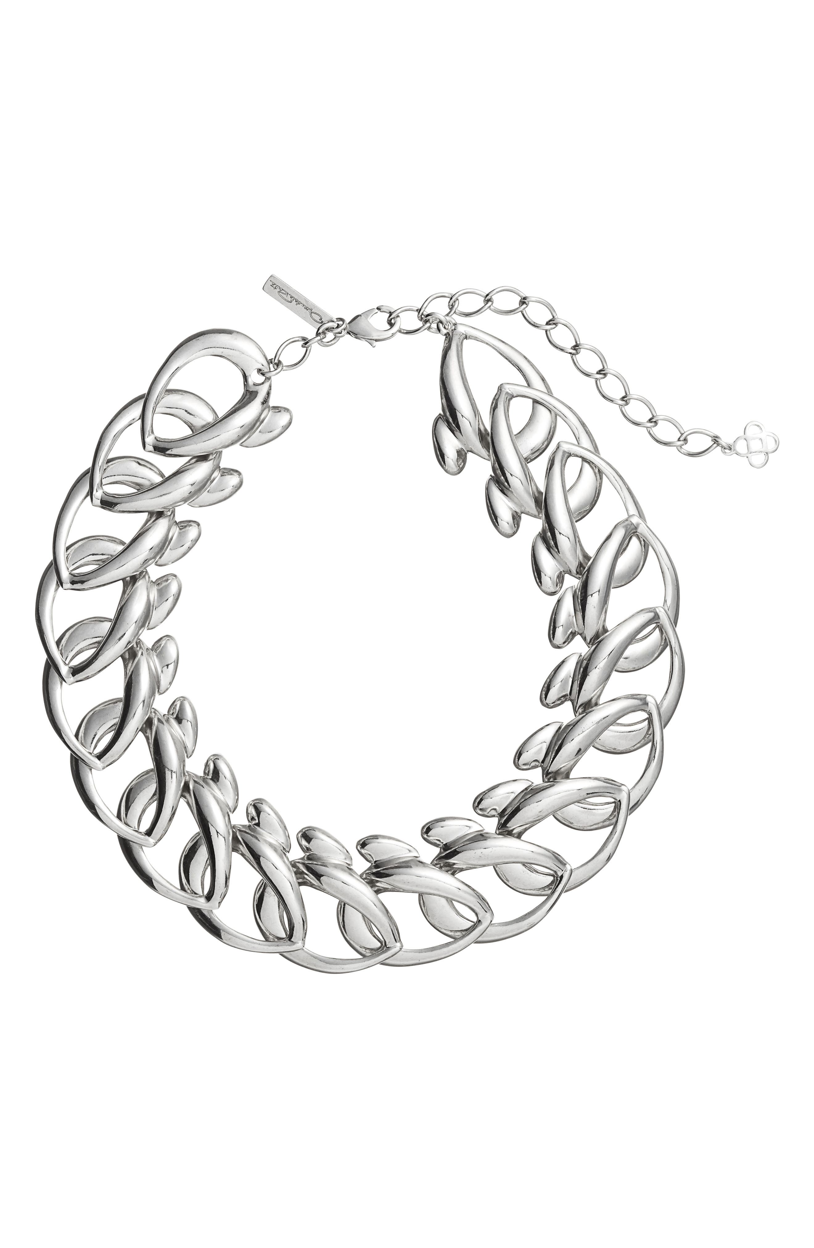 Bold Chain Link Necklace,                             Main thumbnail 1, color,                             040