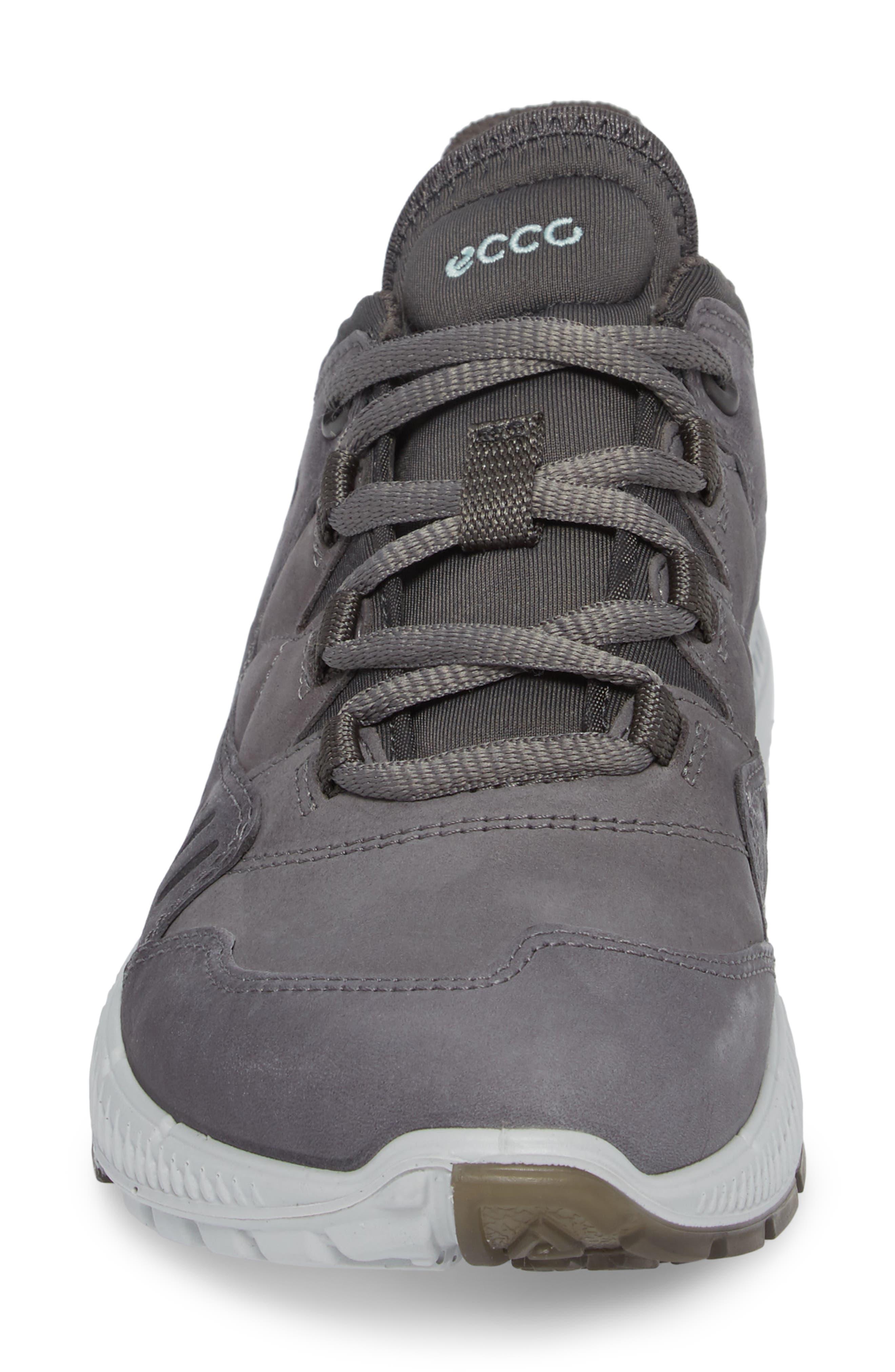 Terrawalk Sneaker,                             Alternate thumbnail 4, color,                             TITANIUM LEATHER