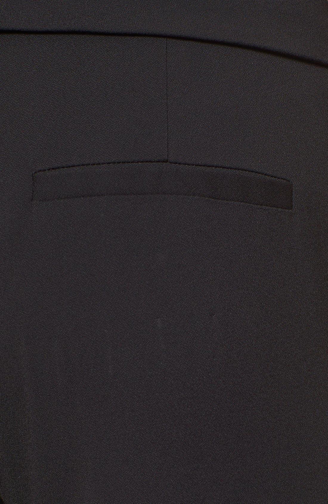 'Delray' Foldover Trousers,                             Alternate thumbnail 4, color,