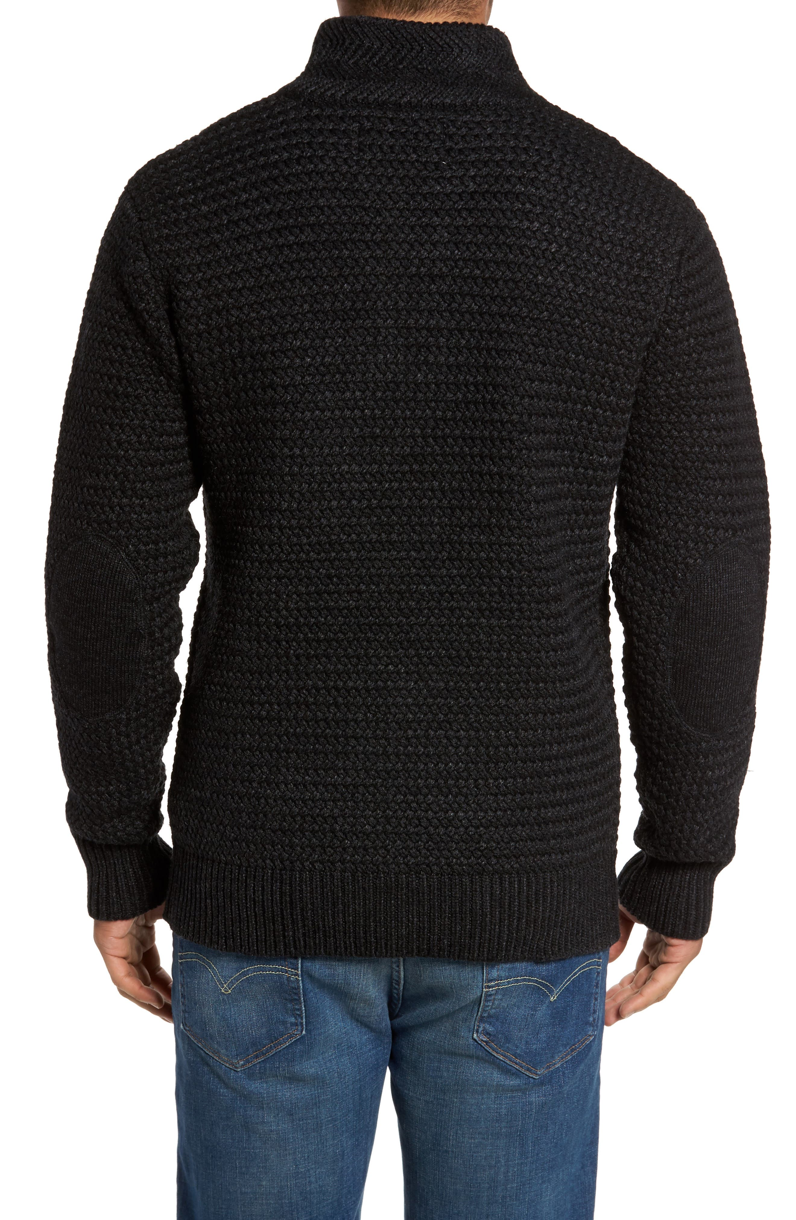 Military Henley Sweater,                             Alternate thumbnail 2, color,                             001