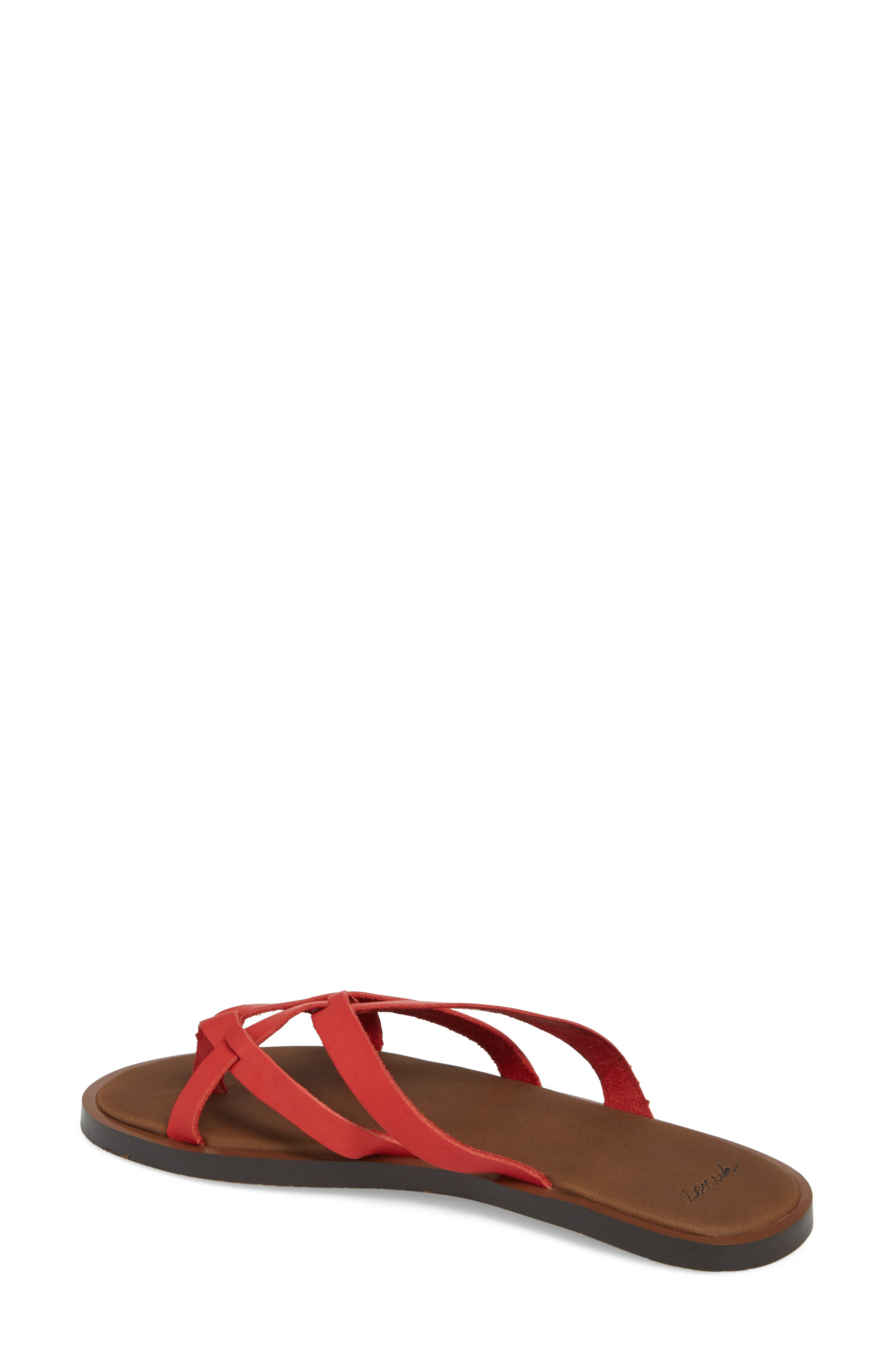 Yoga Strappy Thong Sandal,                             Alternate thumbnail 6, color,