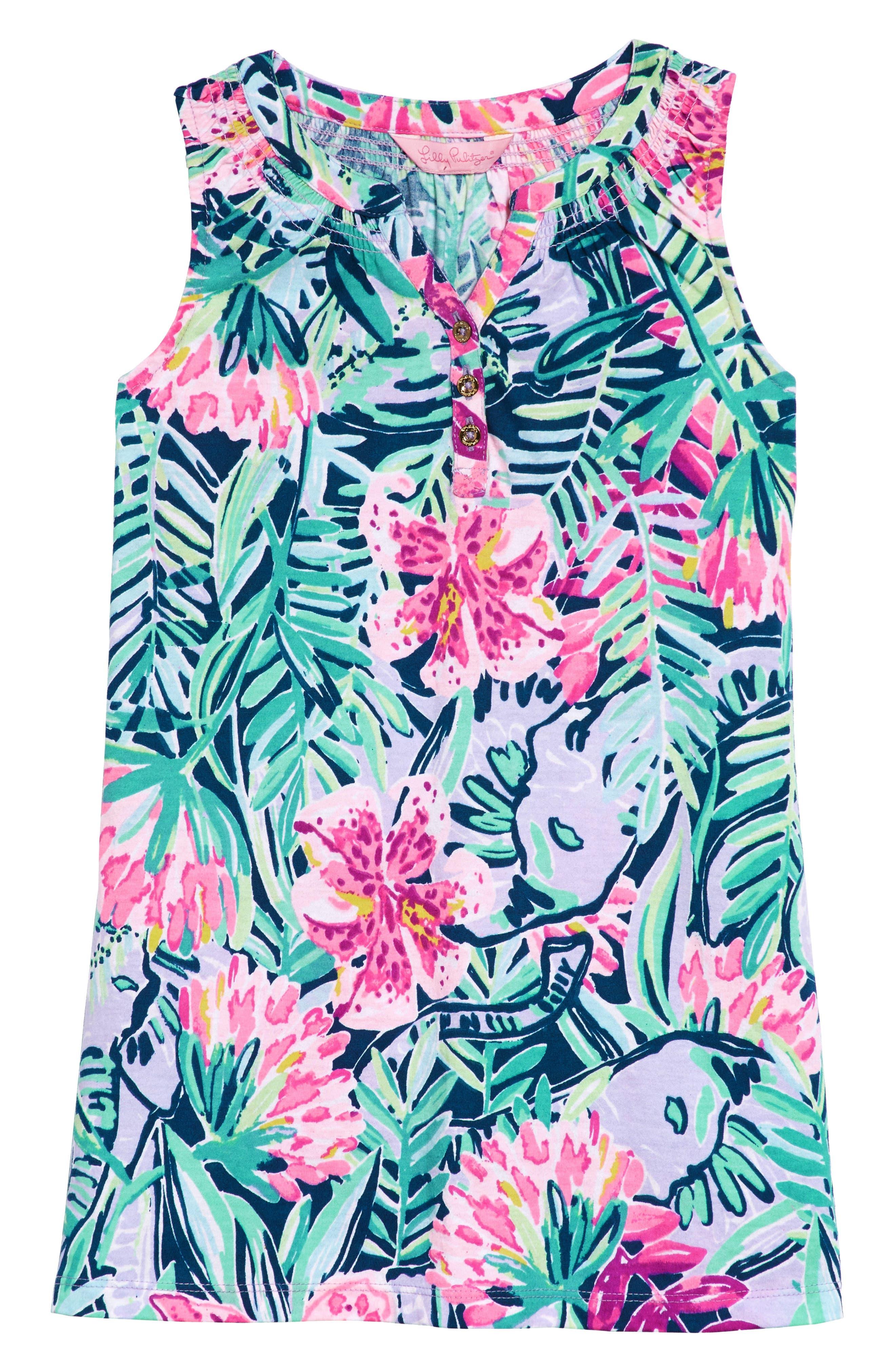 Mini Essie Shift Dress,                             Main thumbnail 1, color,                             MULTI SLATHOUSE SOIREE