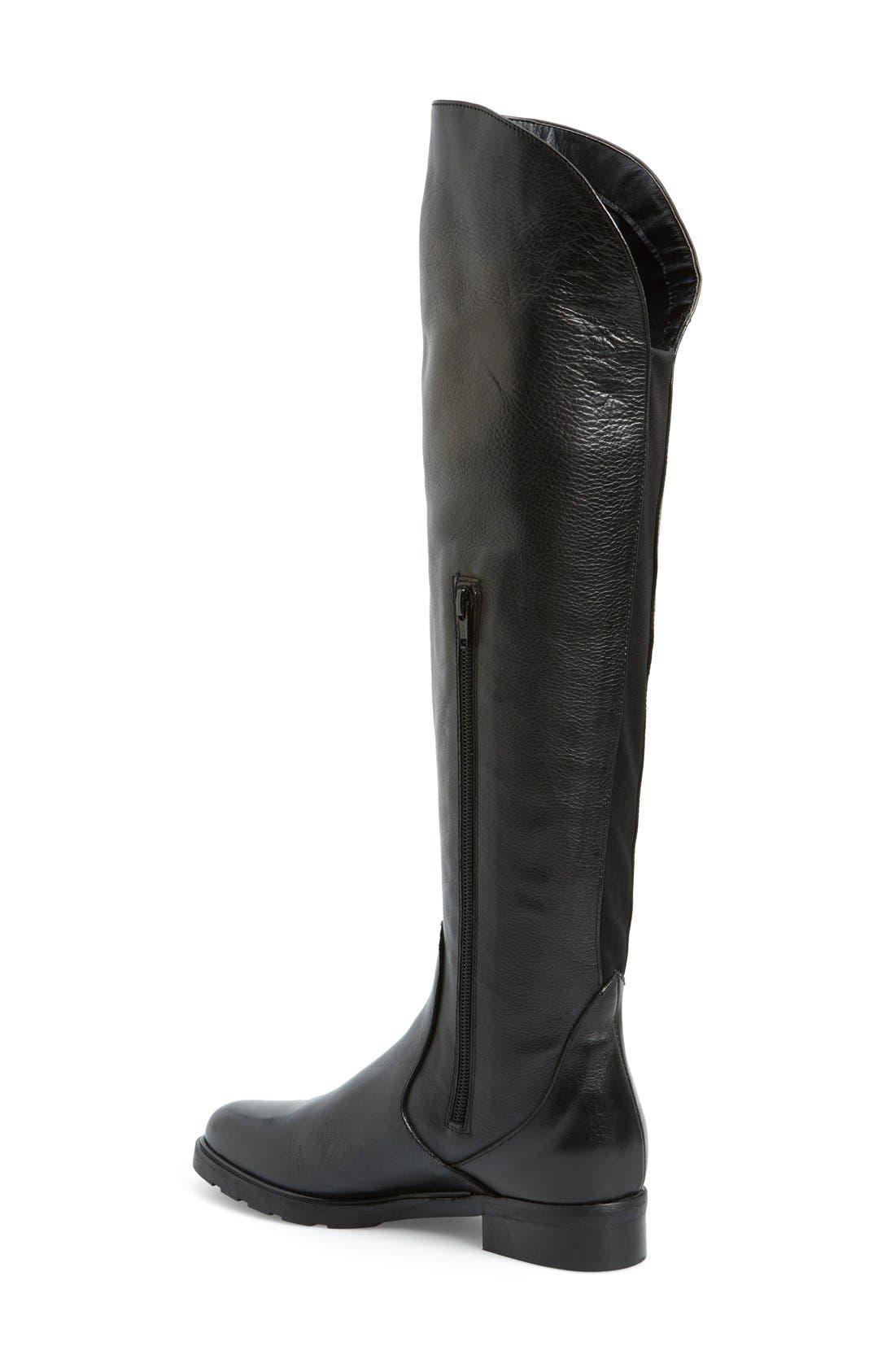 'Berenson' Elastic Back Over the Knee Boot,                             Alternate thumbnail 3, color,                             002