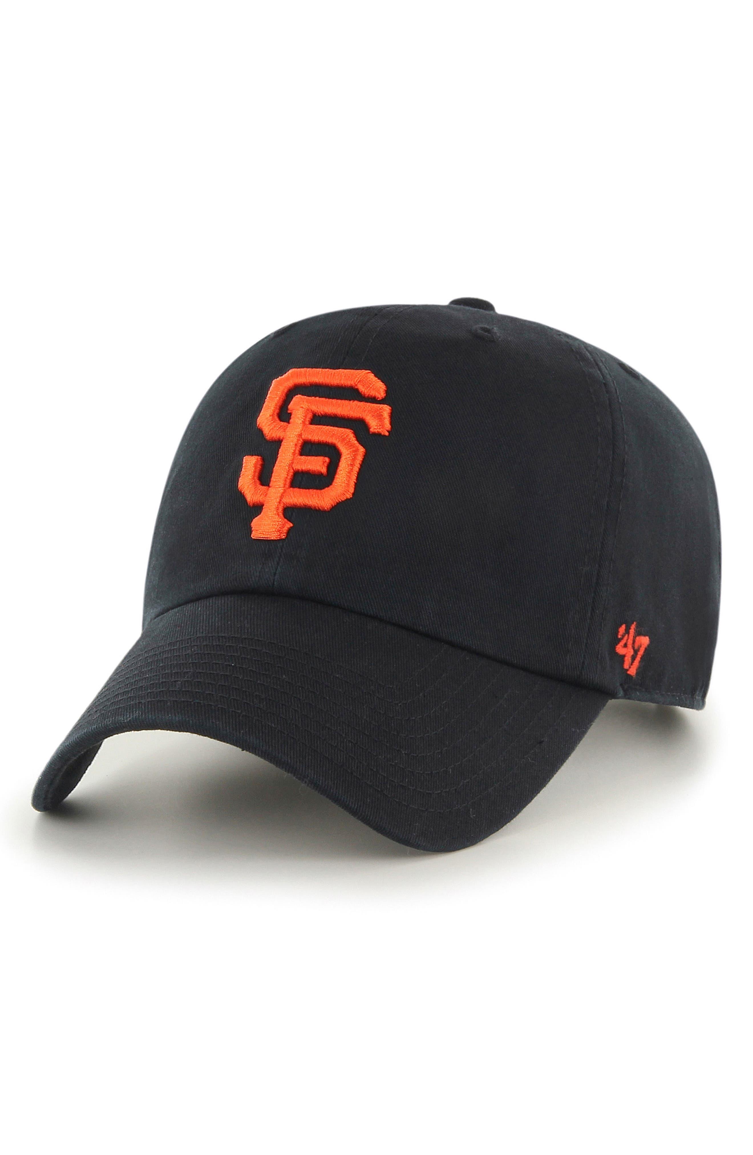 '47 Clean Up - MLB Ball Cap, Main, color, SF GIANTS