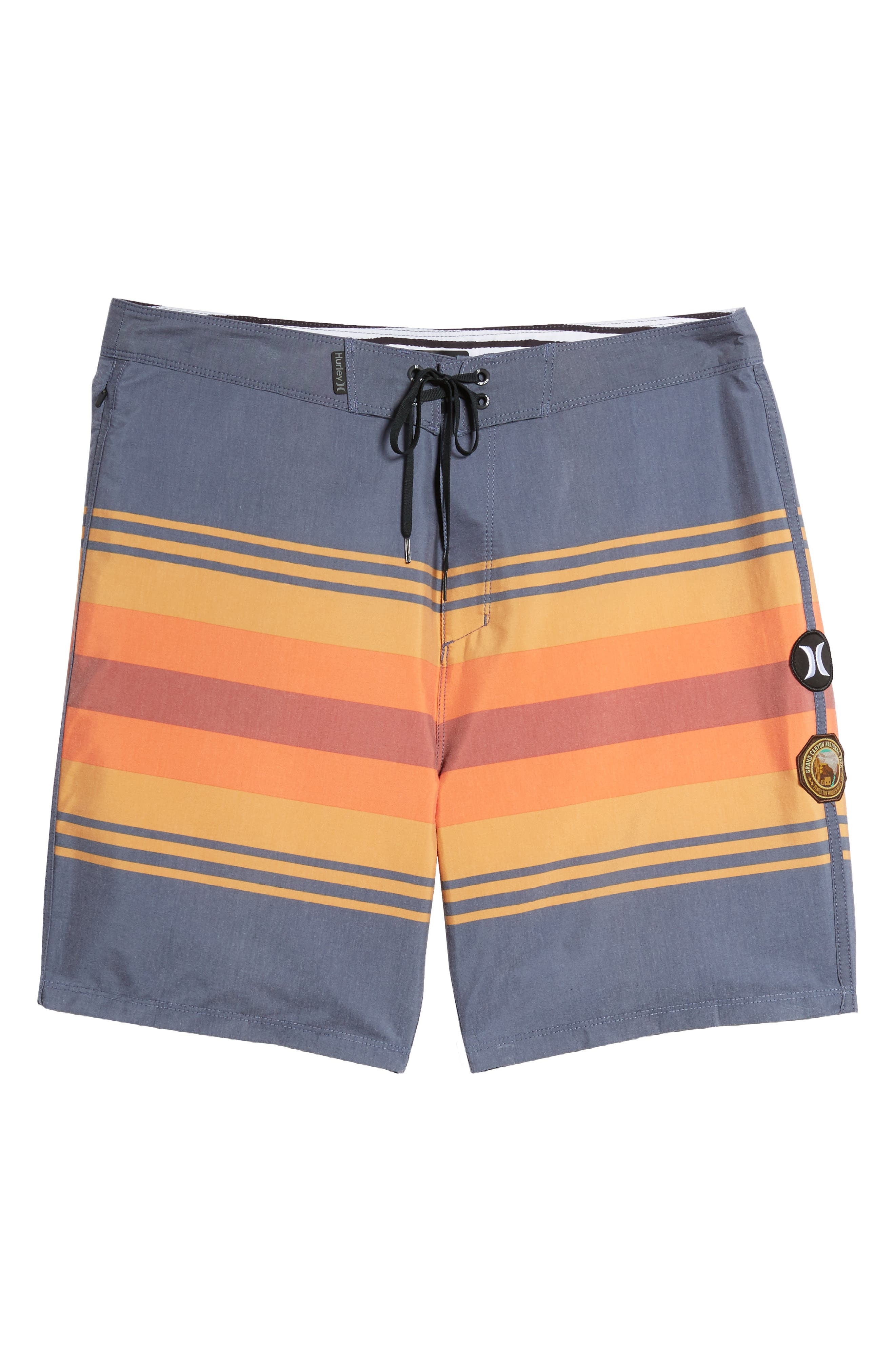 Pendleton Grand Canyon Beachside Board Shorts,                             Alternate thumbnail 6, color,
