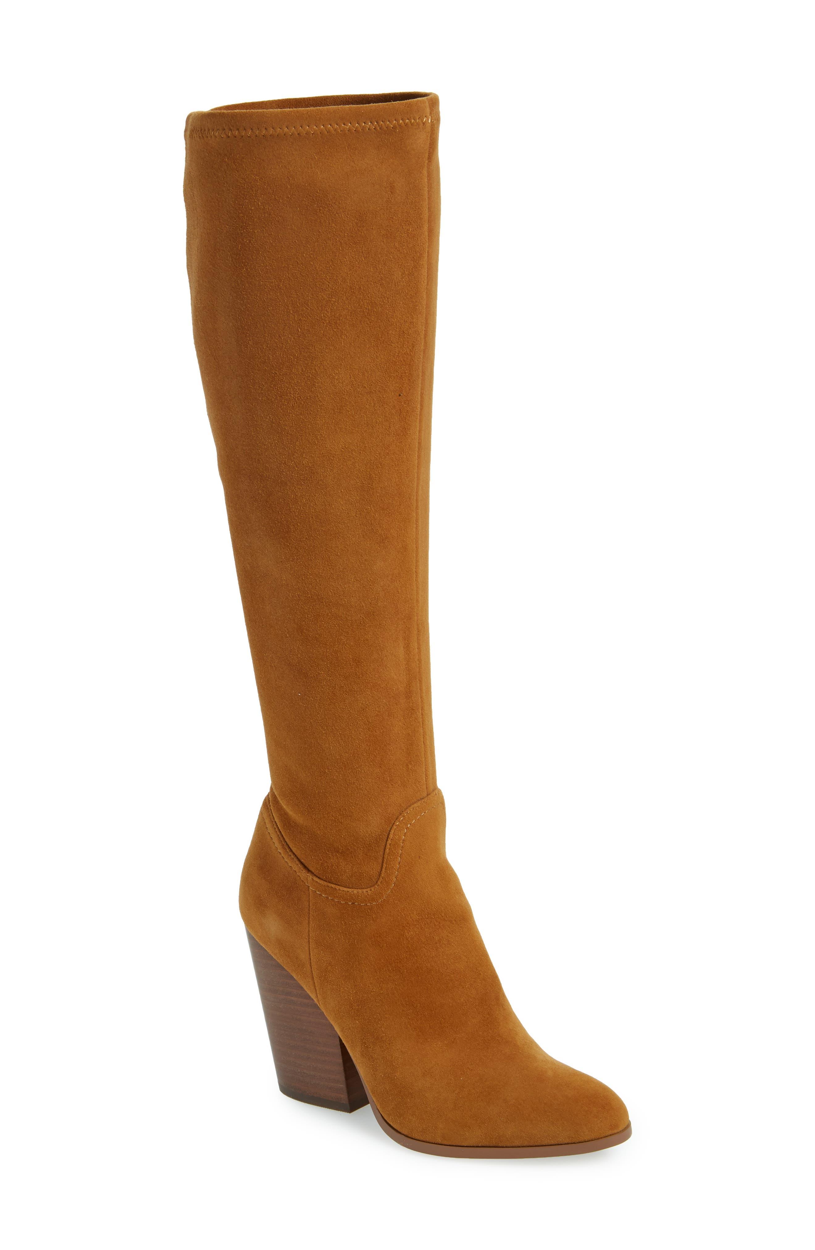 Linea Paolo Elena Knee High Boot, Beige