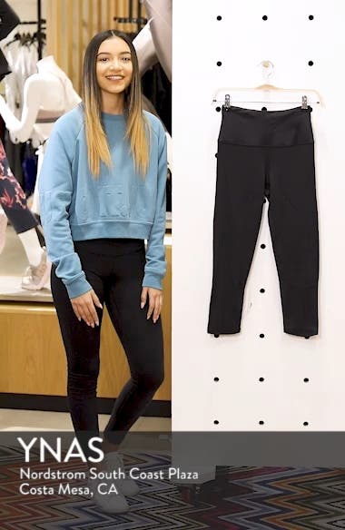 Starry Eyed High-Waist Crop Leggings, sales video thumbnail