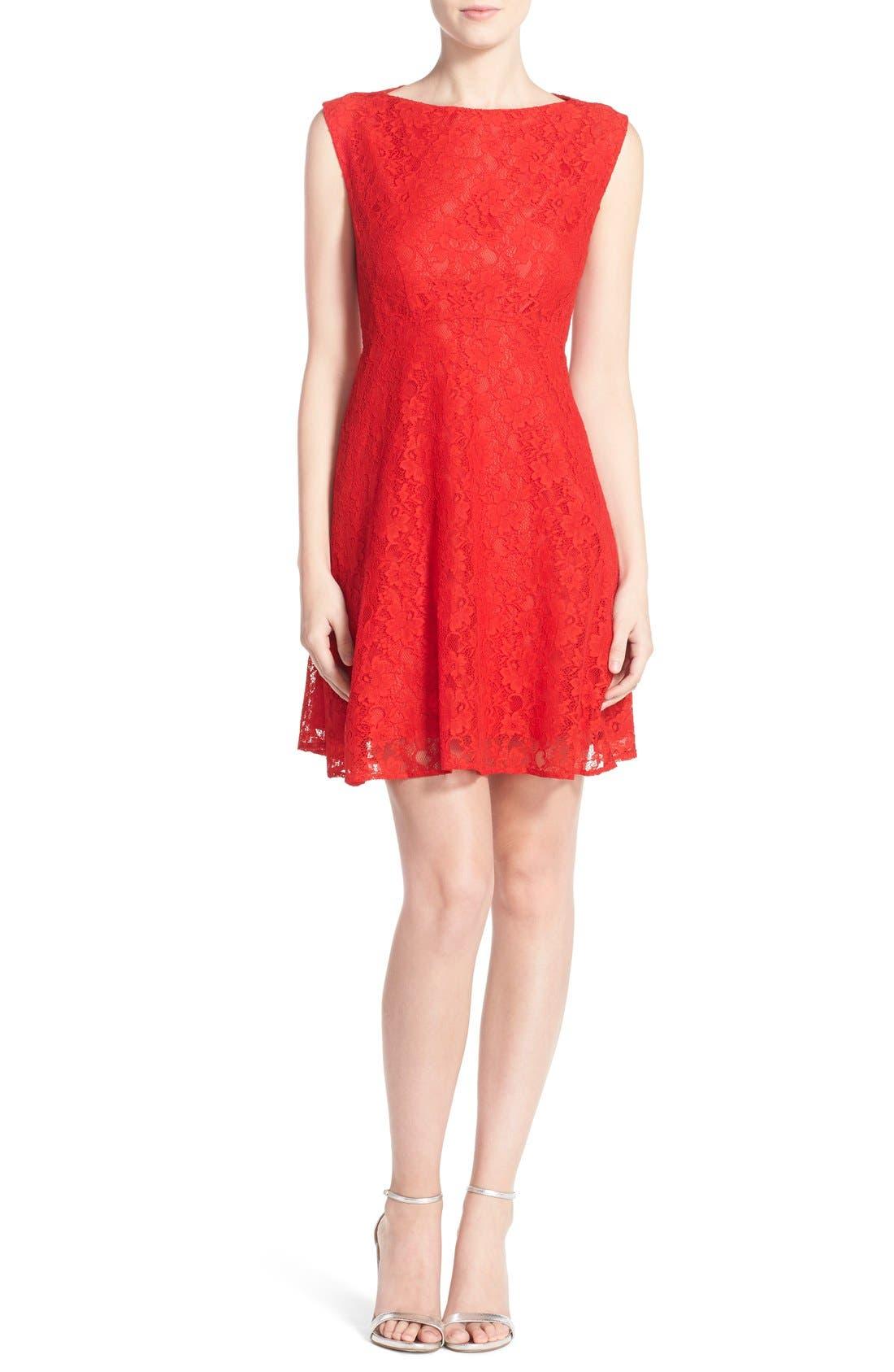 Fit & Flare Dress,                             Alternate thumbnail 20, color,
