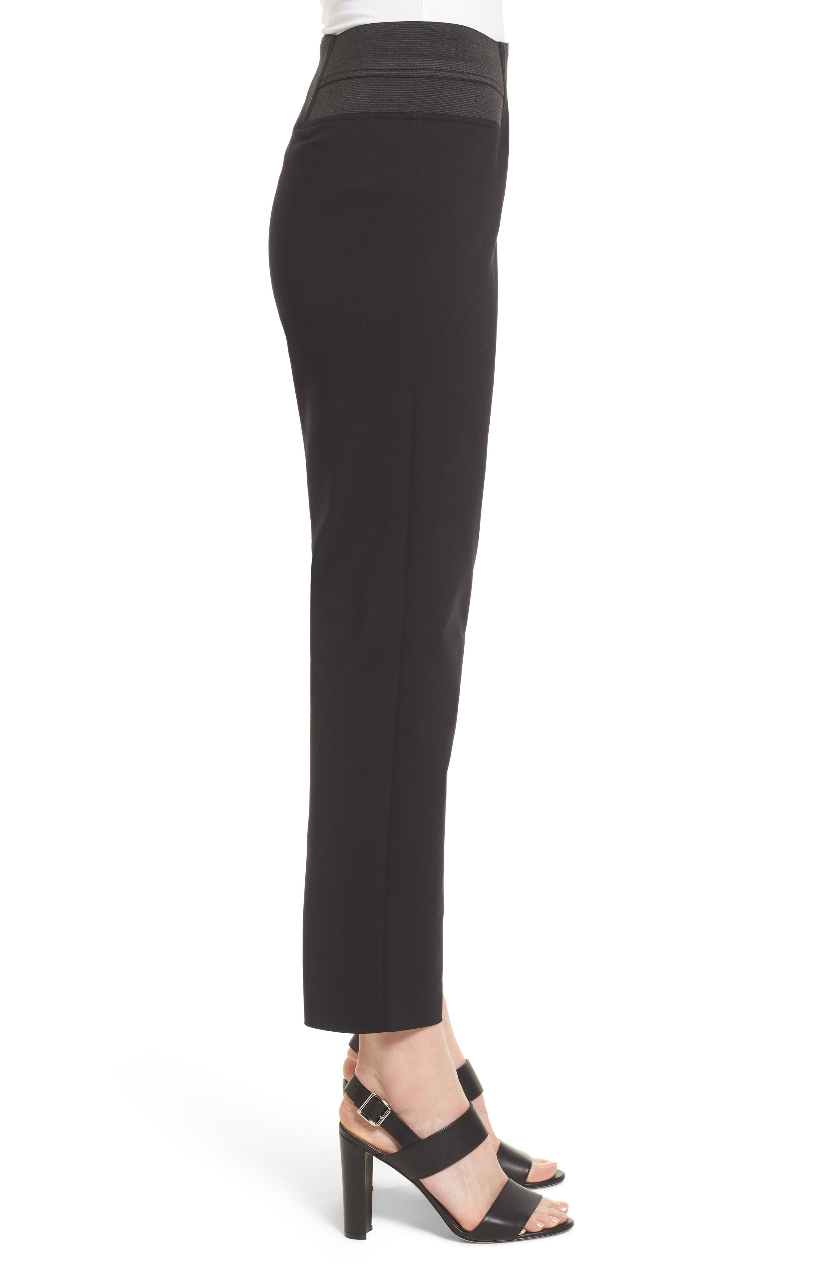 Ming Want Pull-On Ankle Pants,                             Alternate thumbnail 3, color,