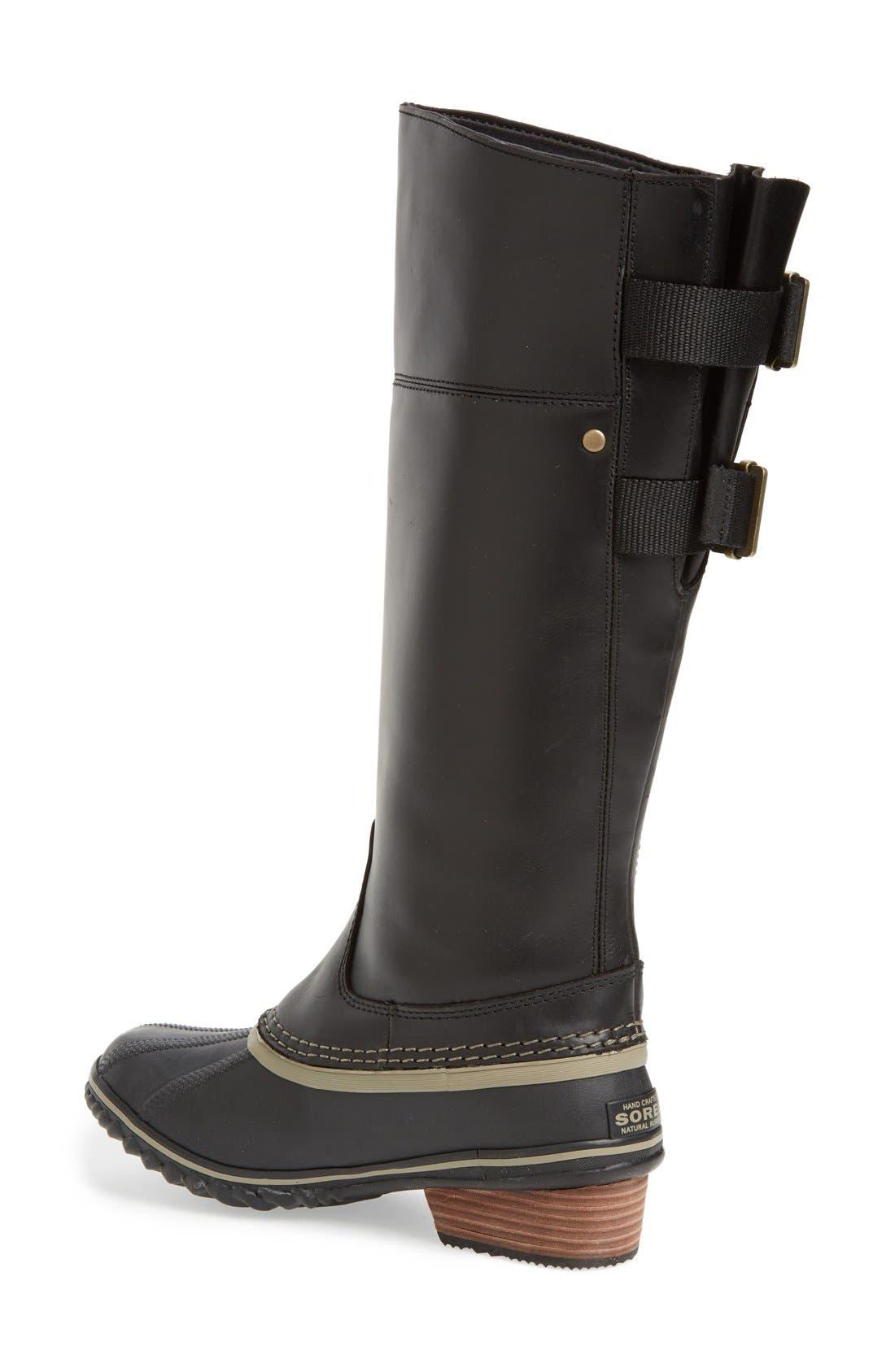 'Slimpack II' Waterproof Riding Boot,                             Alternate thumbnail 2, color,                             010