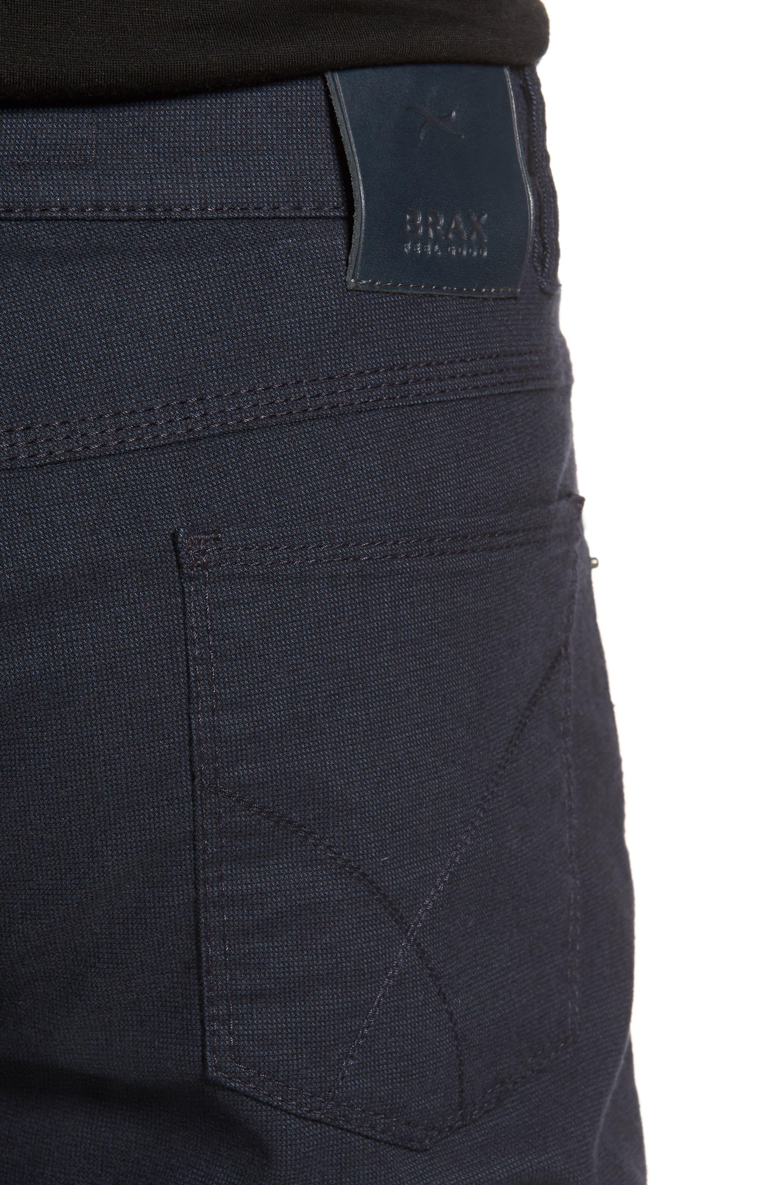 Five-Pocket Stretch Cotton Trousers,                             Alternate thumbnail 17, color,