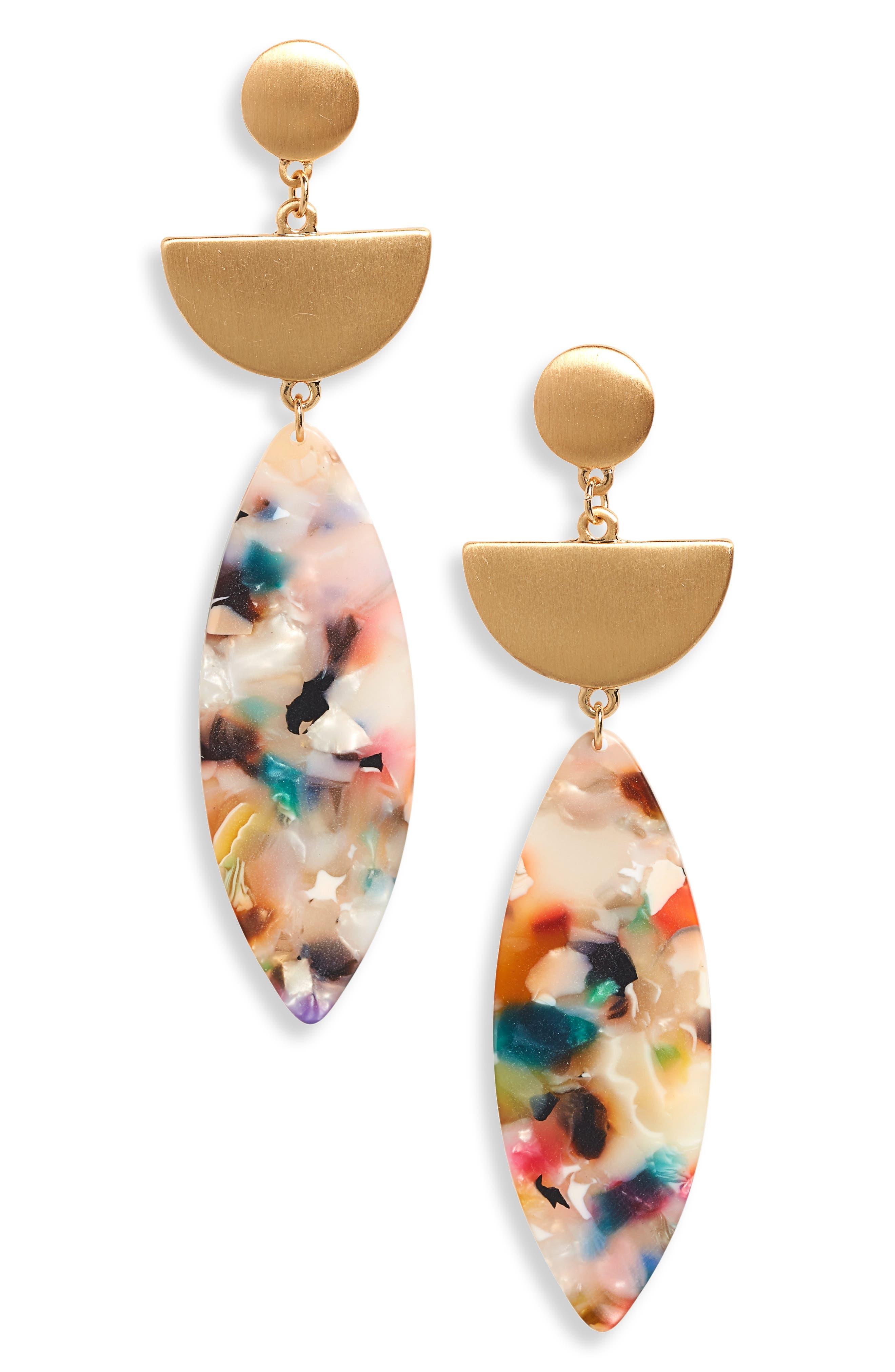 Marquise Drop Earrings,                             Main thumbnail 1, color,                             710